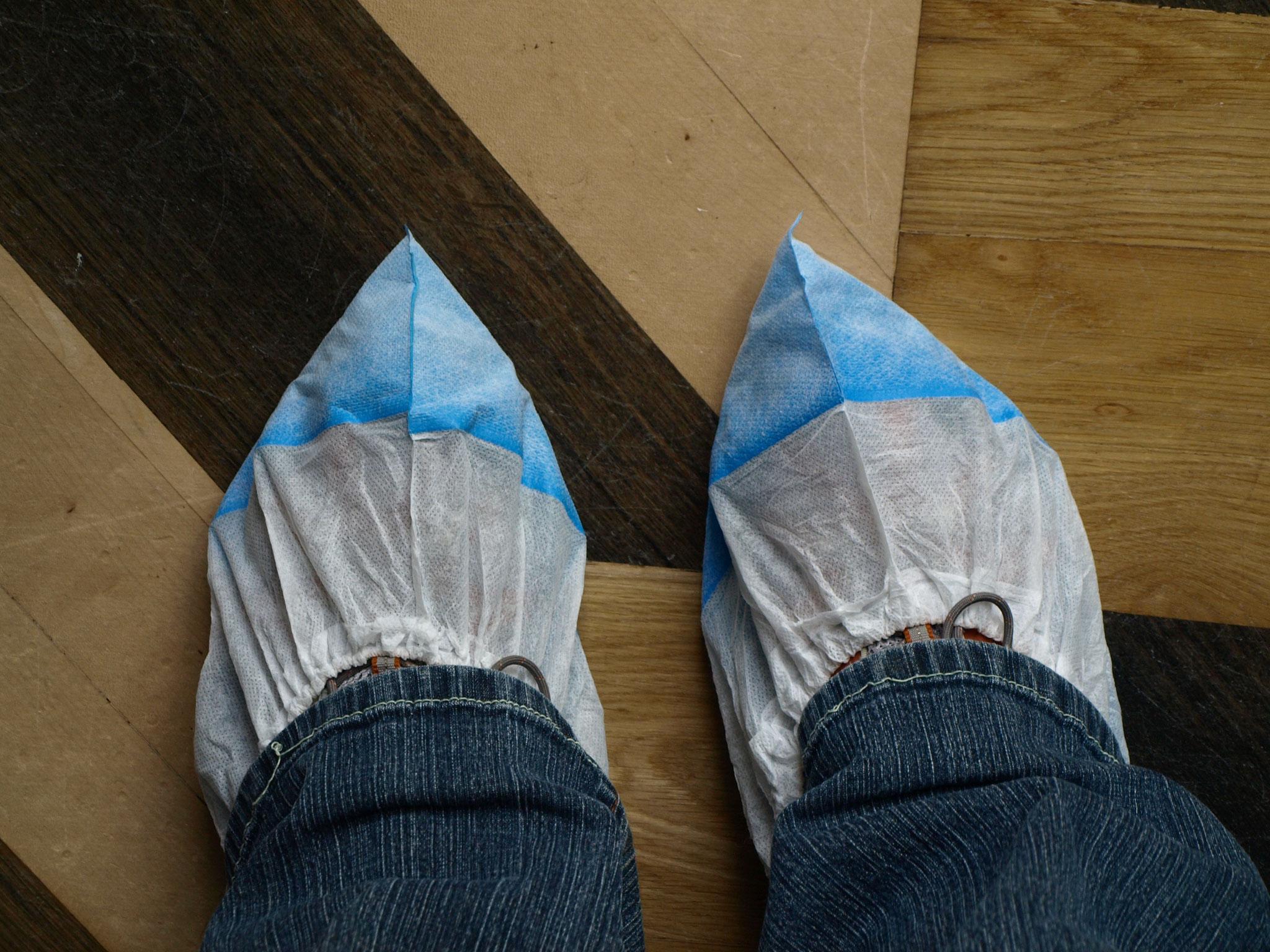 Schutz der Schuhe