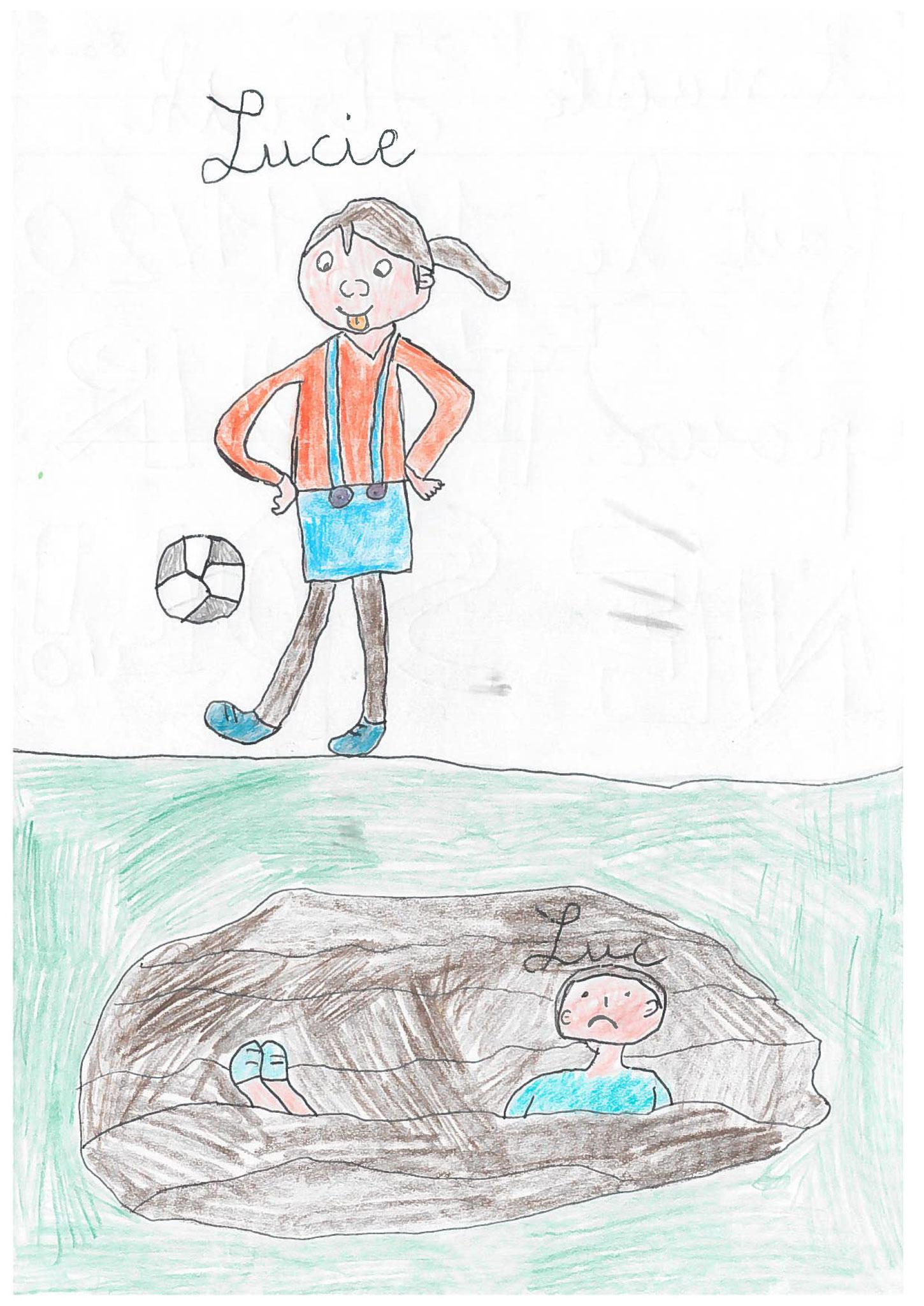 Anaëlle - 8 ans - de Mexy