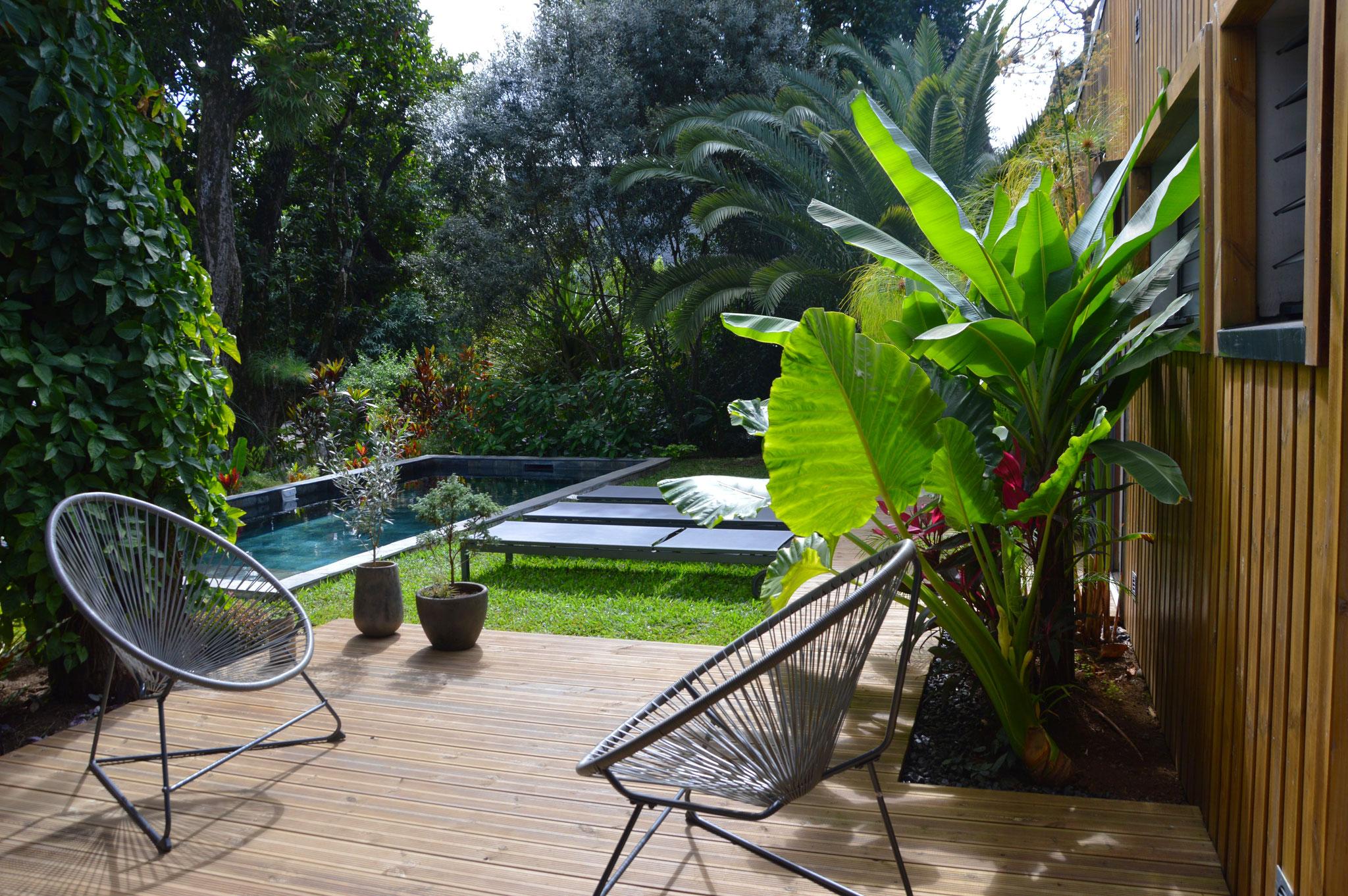 Côté terrasse © Rc-Paysage