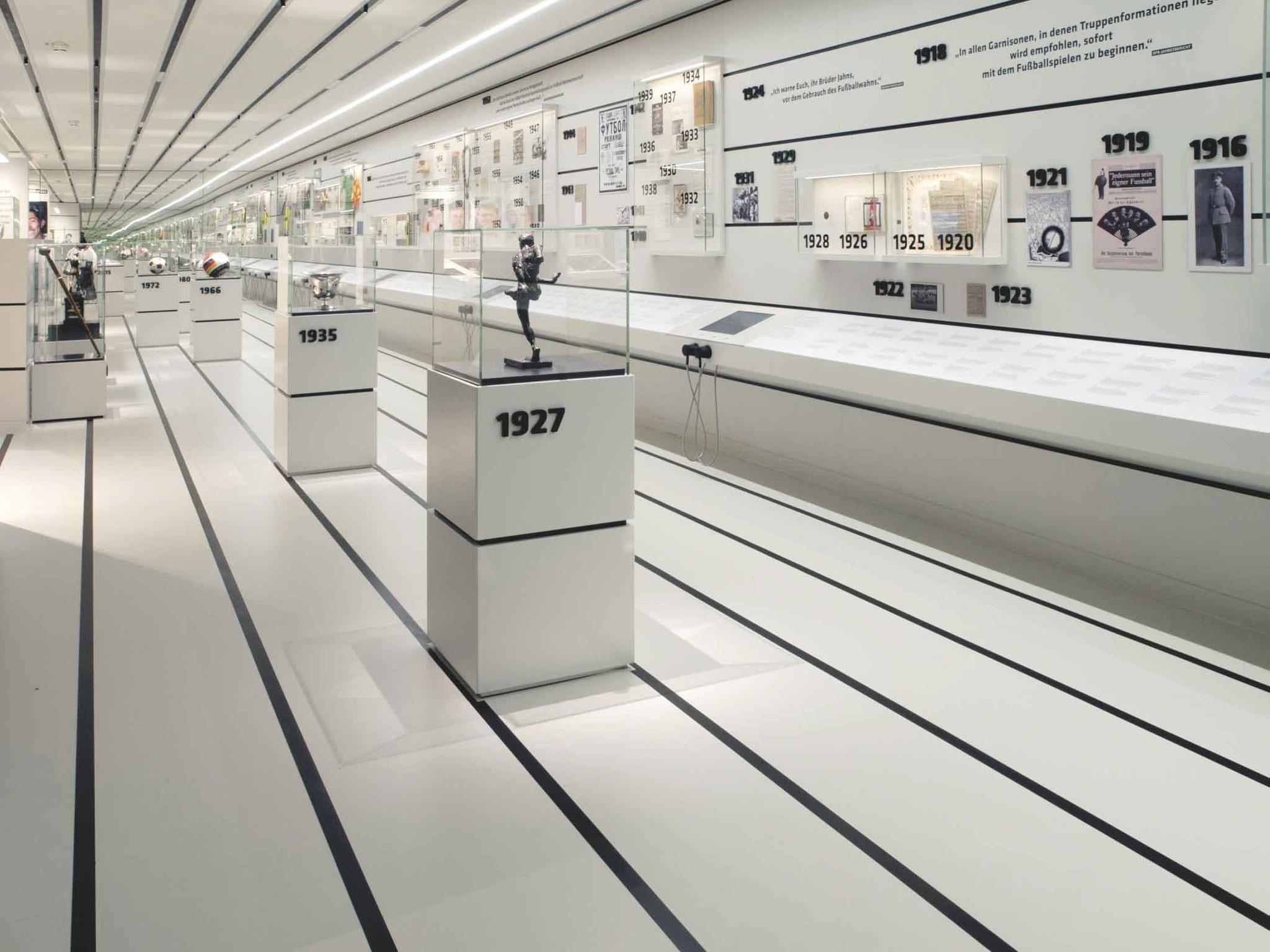 Bodenbelag und Parkett für das Deutsches Fußballmuseum in Dortmund