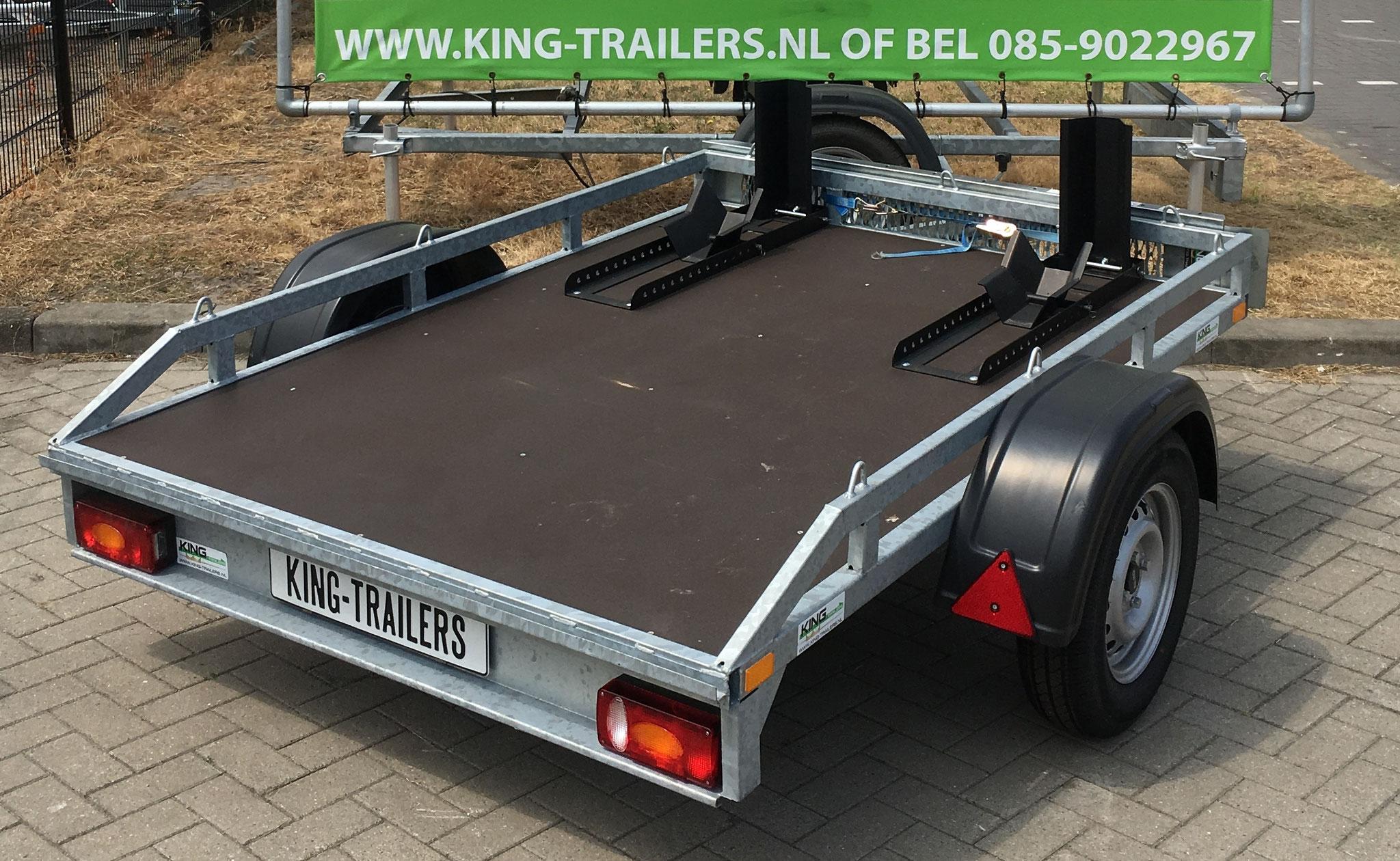 Verhuur King, Motor trailer groot