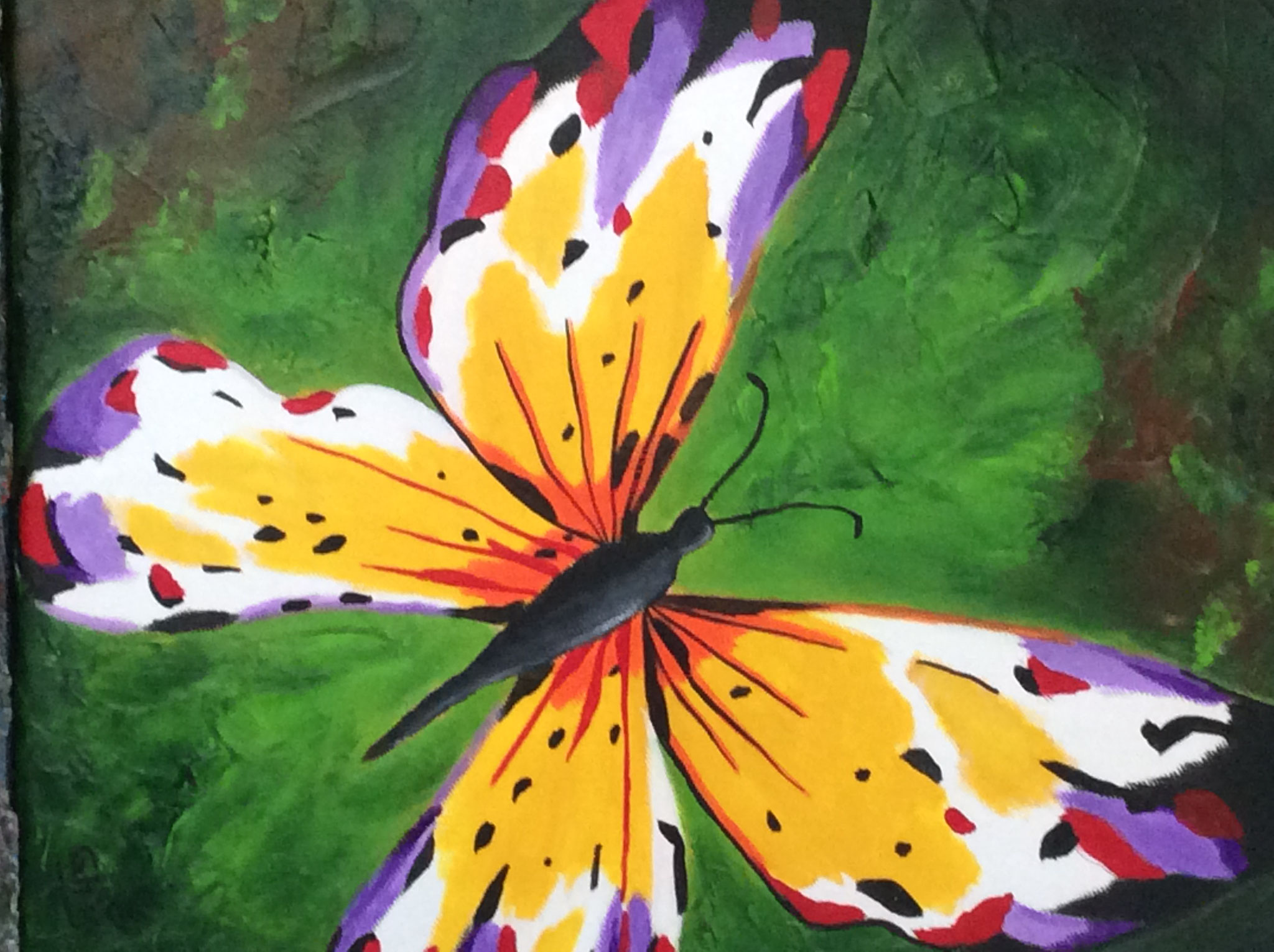 Titre:Multicolore,Grandeur:14x11,Techniques mixtes