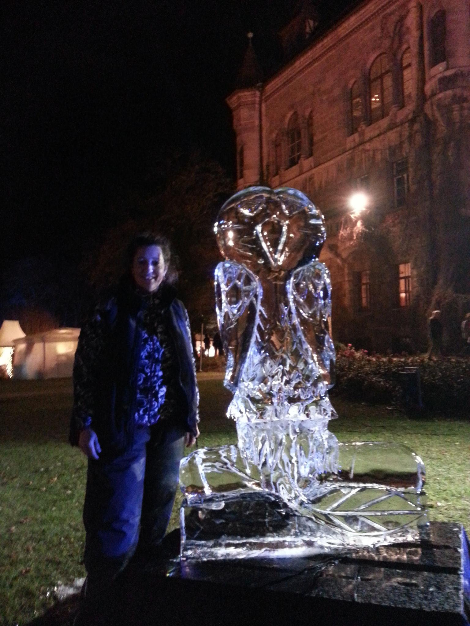 Winterträume Faber Castell Schloss - Eule