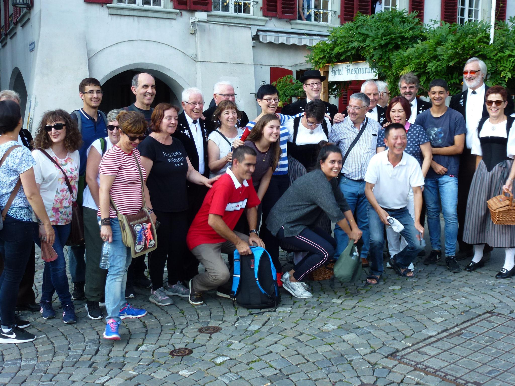 Kleiner Spass mit Touristen