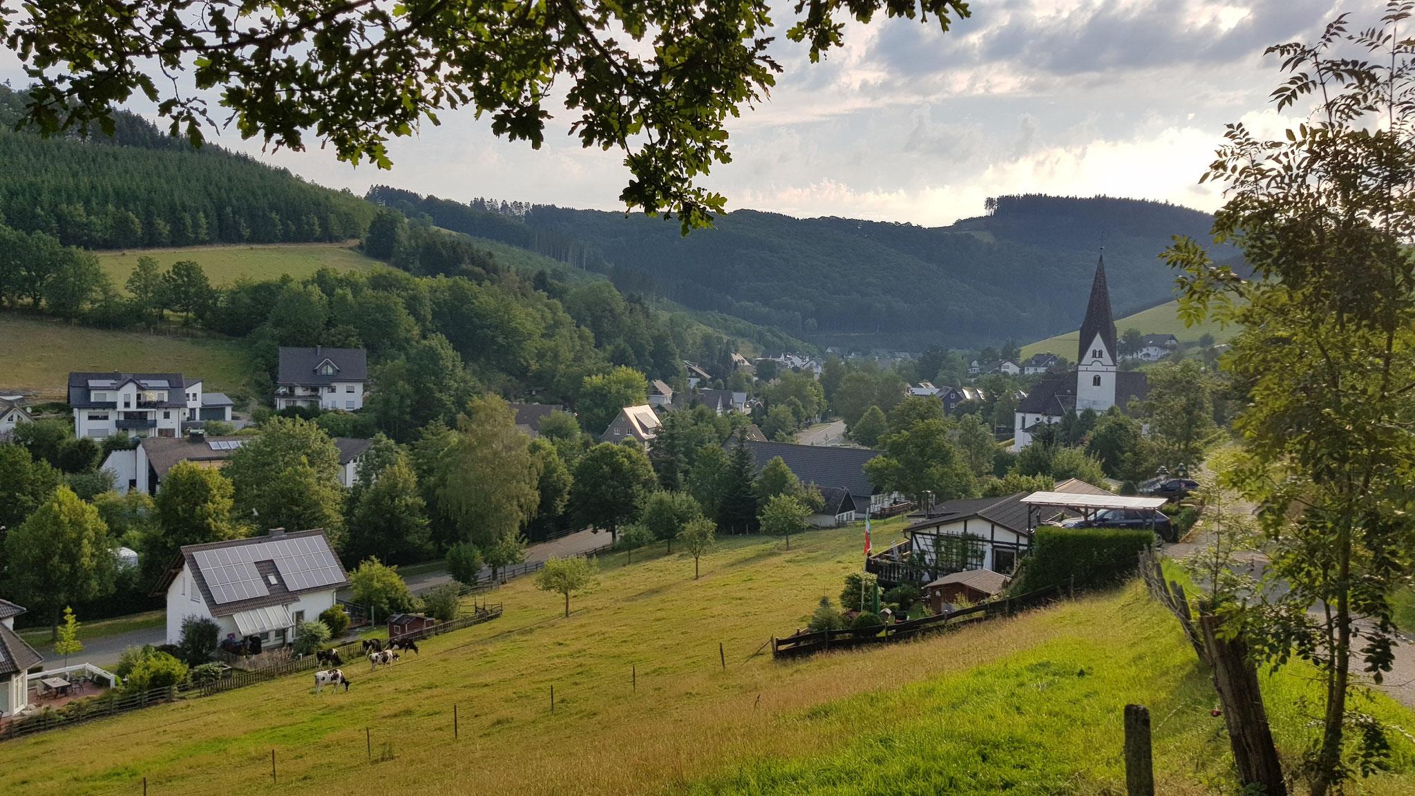 Tobias Heimes - Blick von der Burg - August 2020