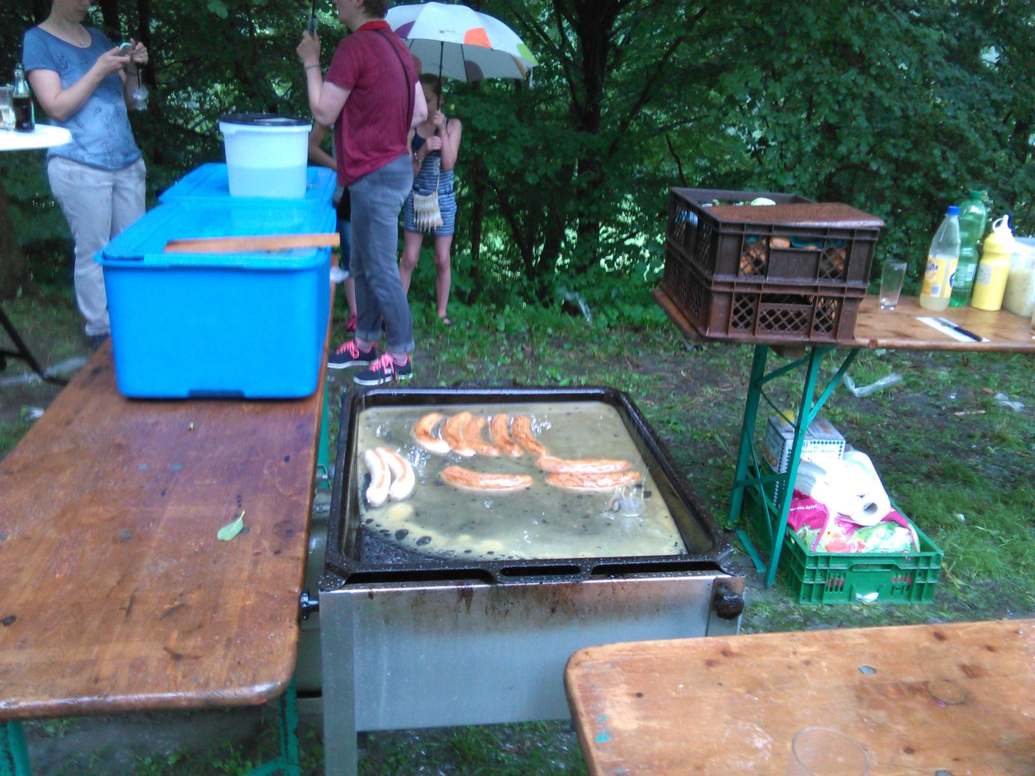 Gerhard Plugge - Schützenfestmontag nach dem Regenschauer - Juli 2016