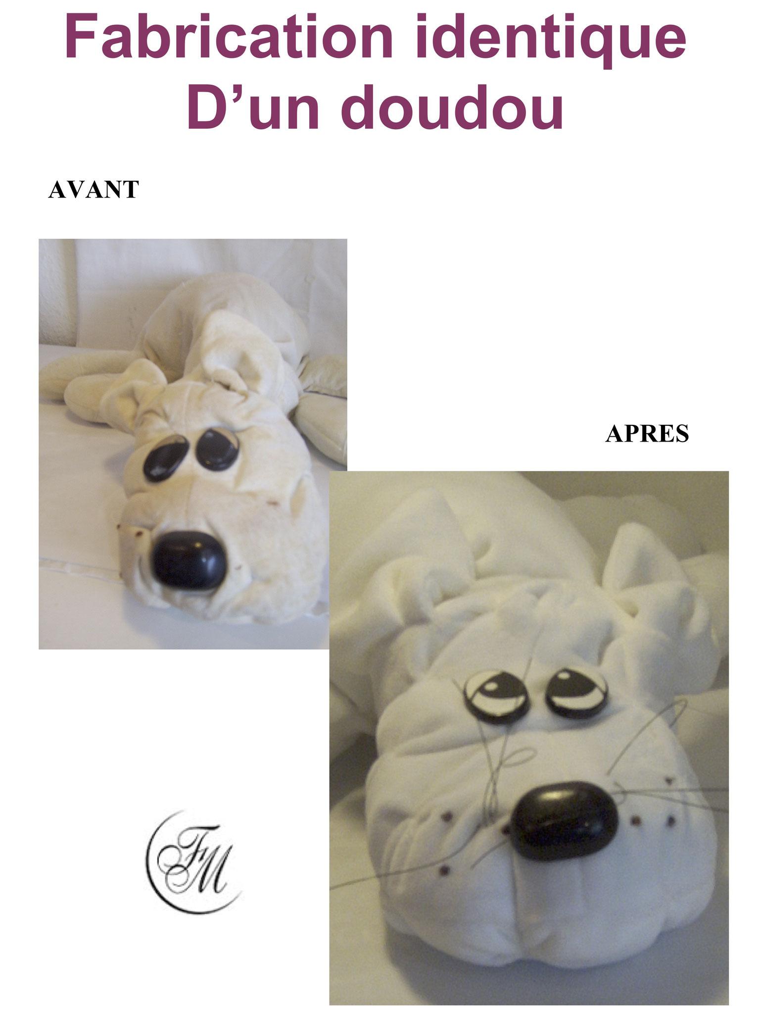 Doudou de La clinique des poupées - Bordeaux