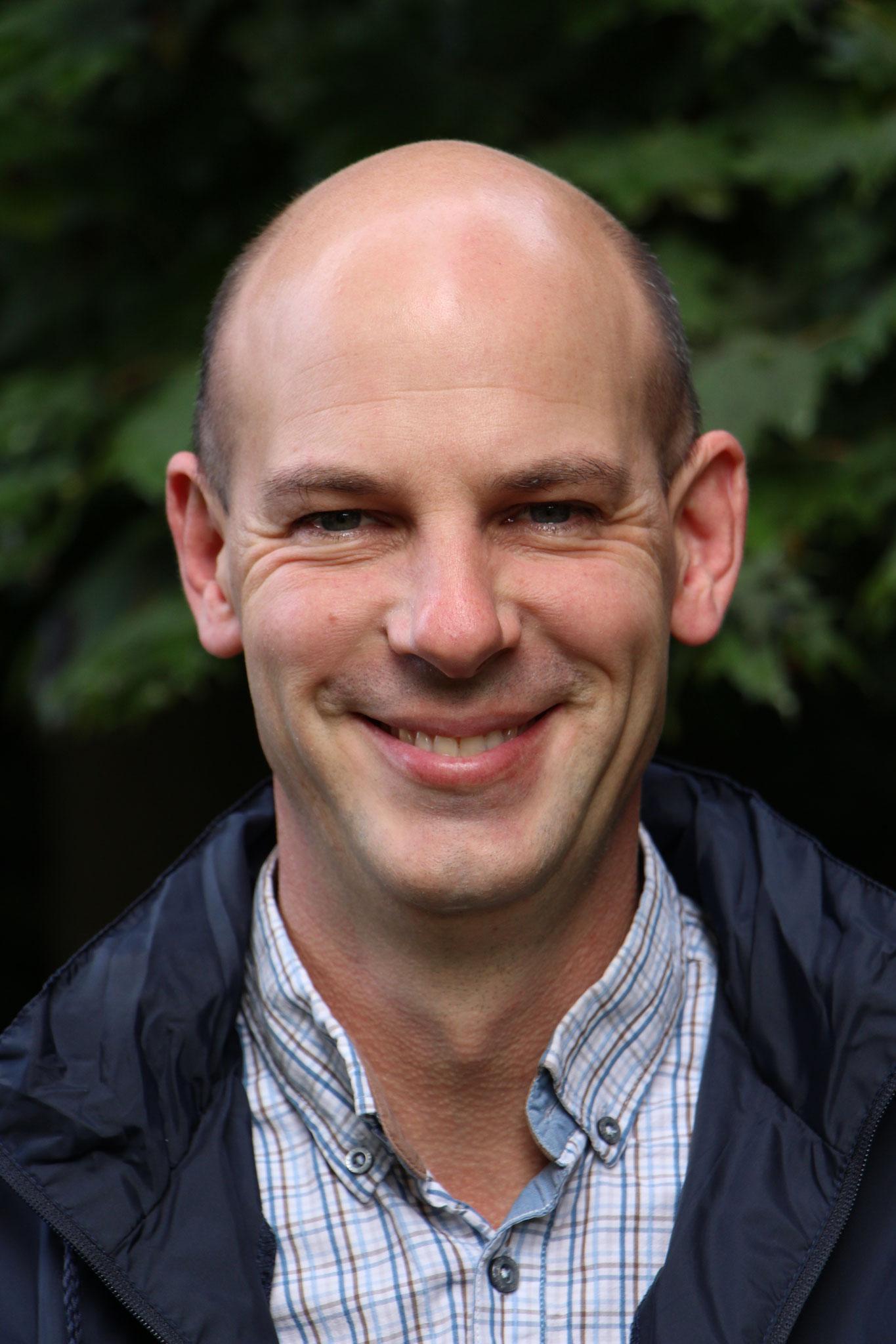 Julien Houssière, 42 ans, 2 enfants, la Butte à Monseigneur