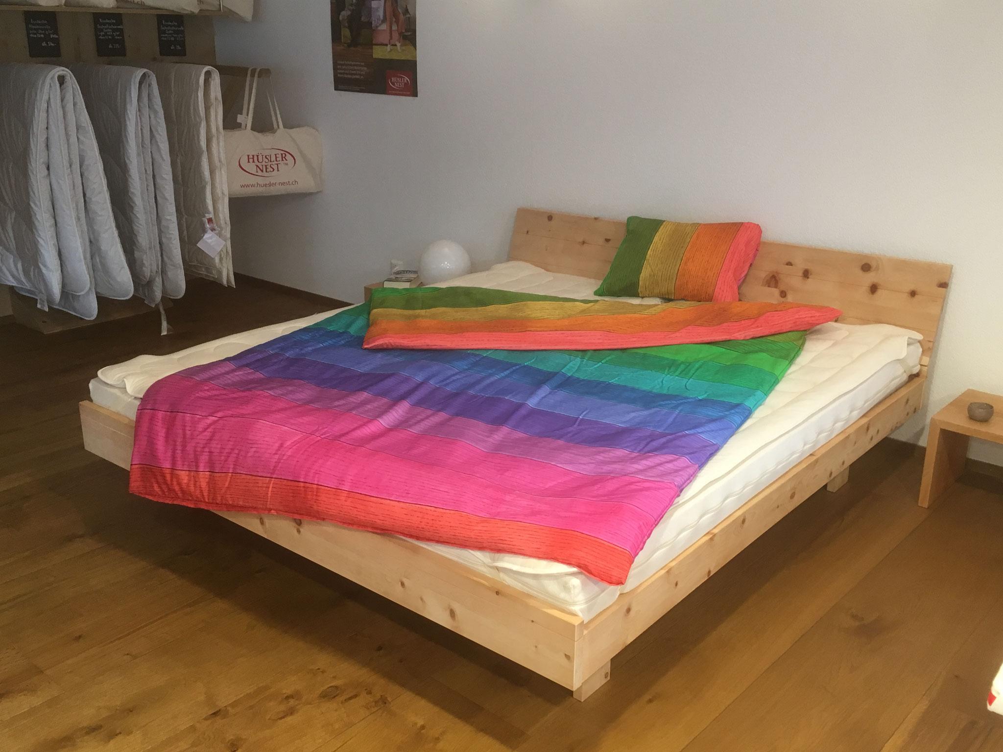 Arven Holzbett aus der Kollektion von Hüsler Nest