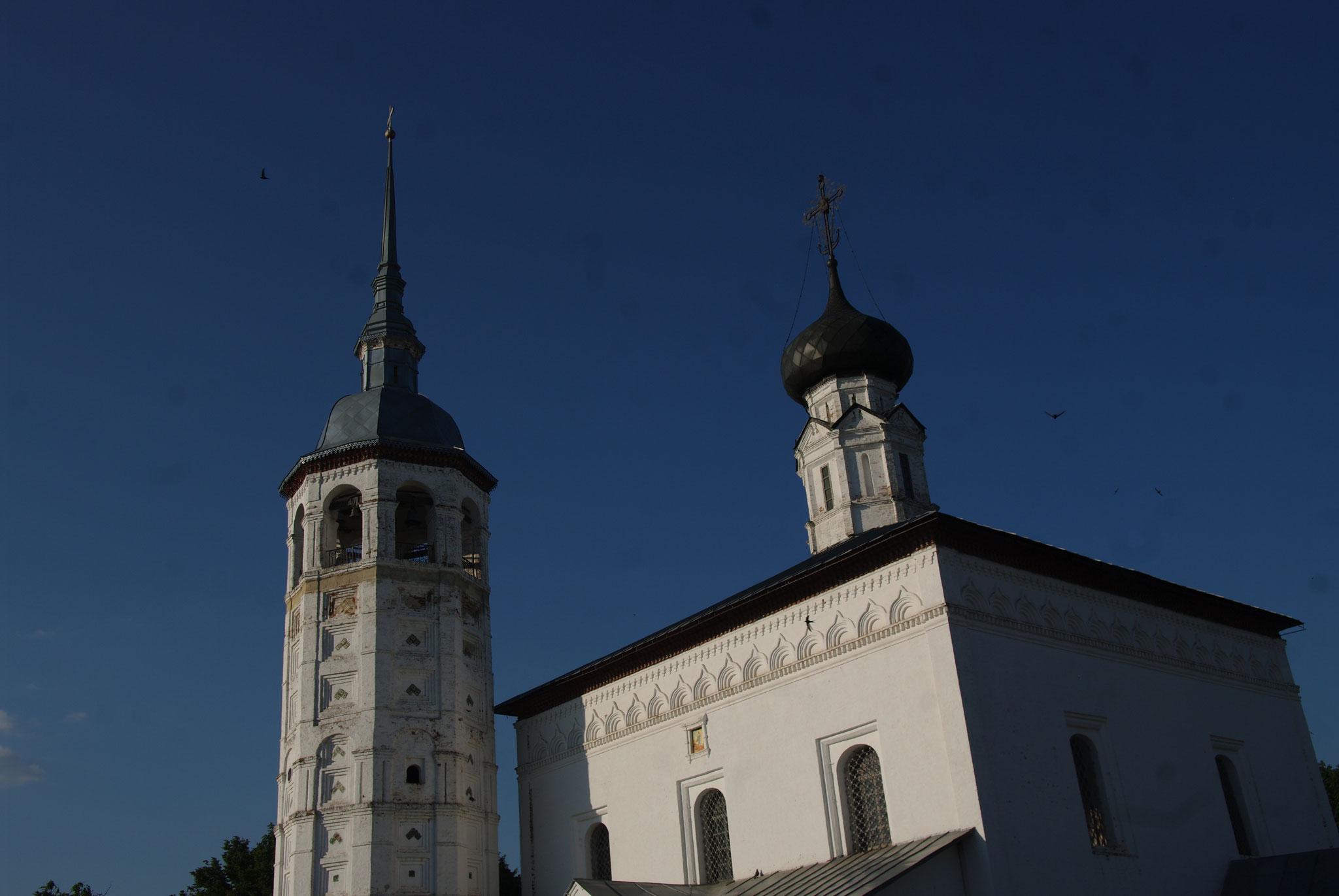 L'église de la Résurrection, près de la place du marché