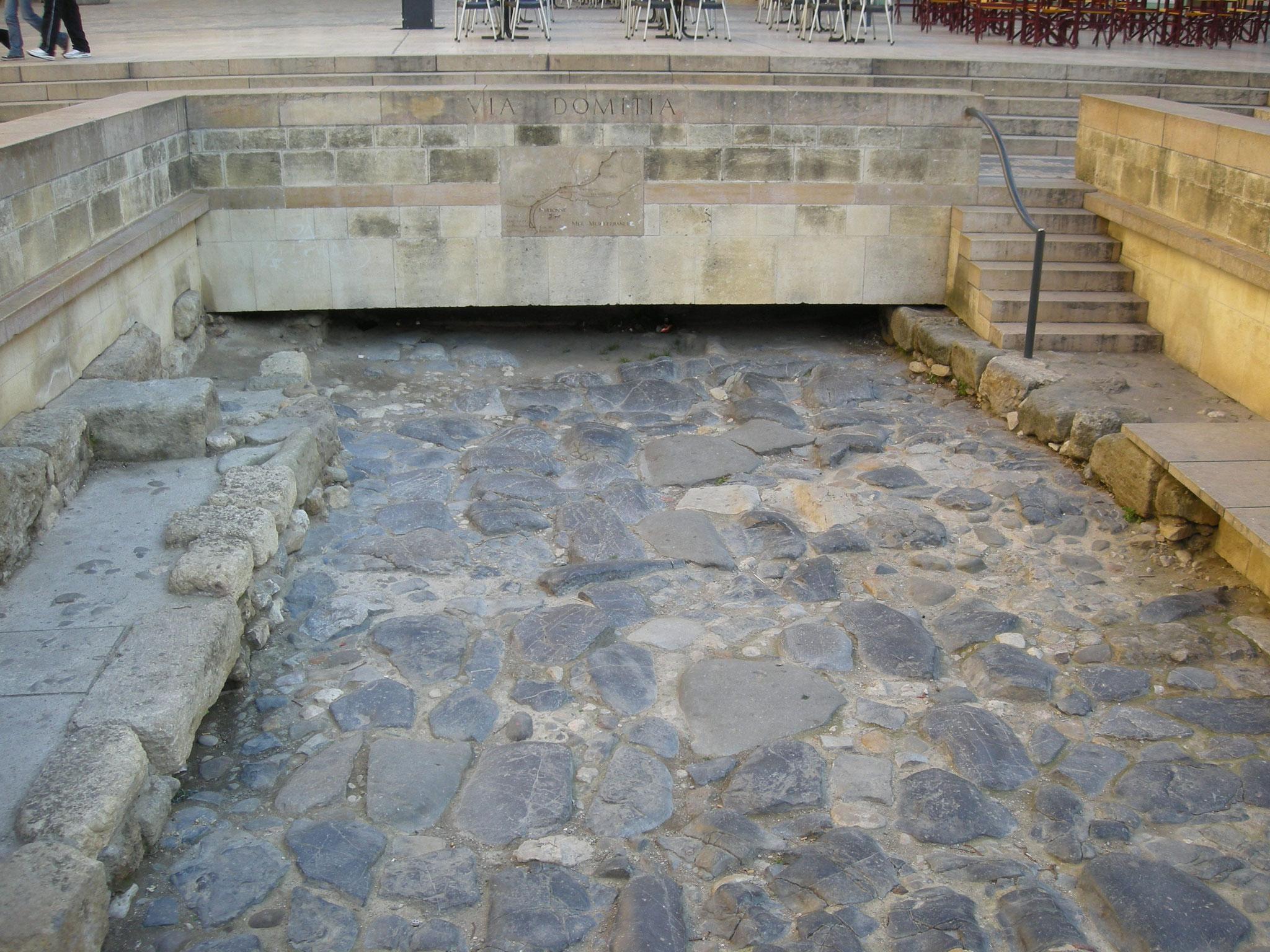 Via Domitia, bien conservée
