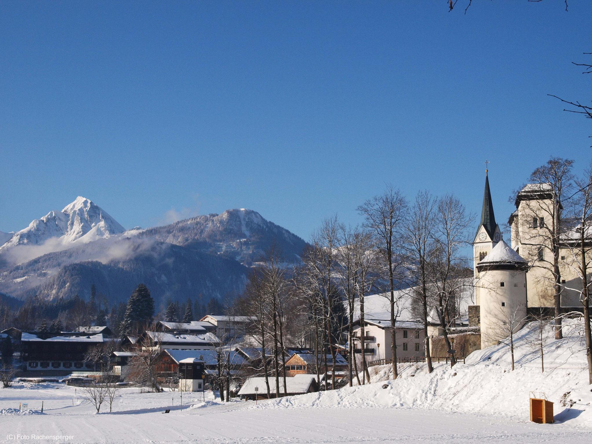 Goldegg mit Schloss