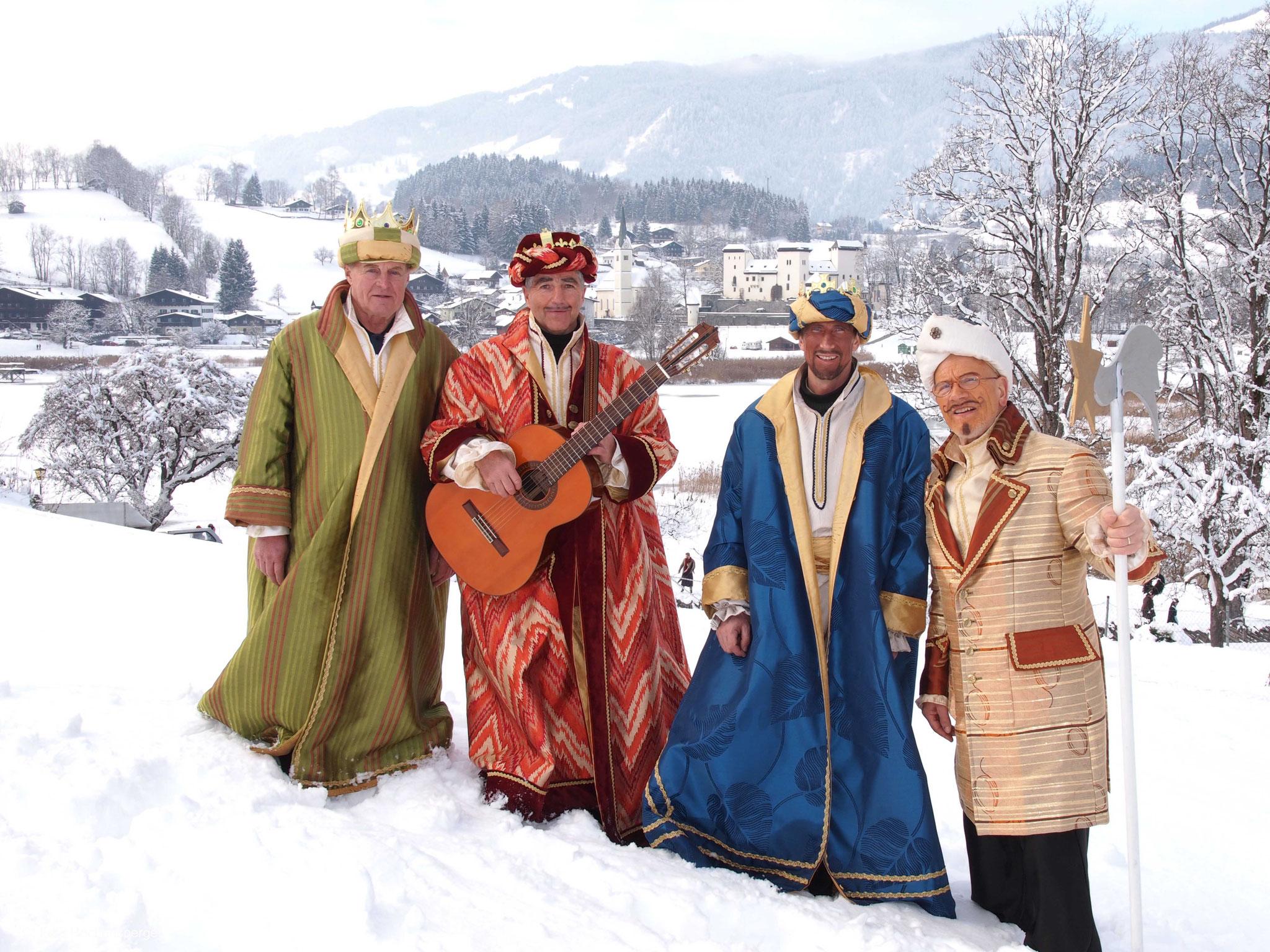 Pongauer Perchtenumzug - Heiligen 3 Könige