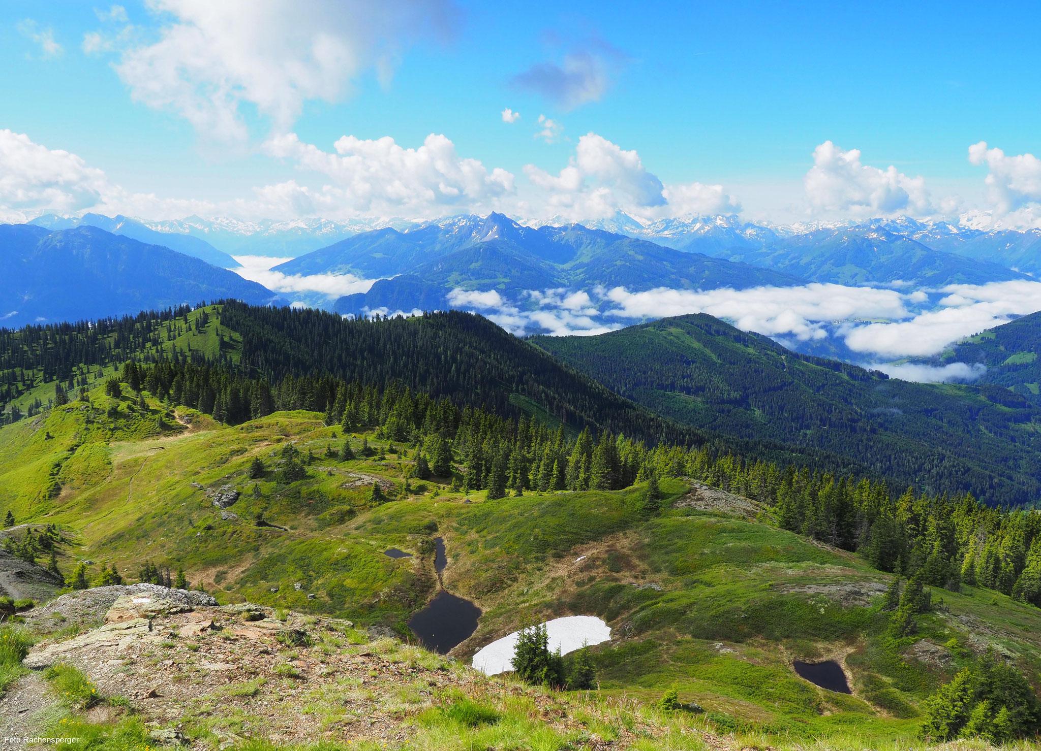 Aussicht vom Schneeberg