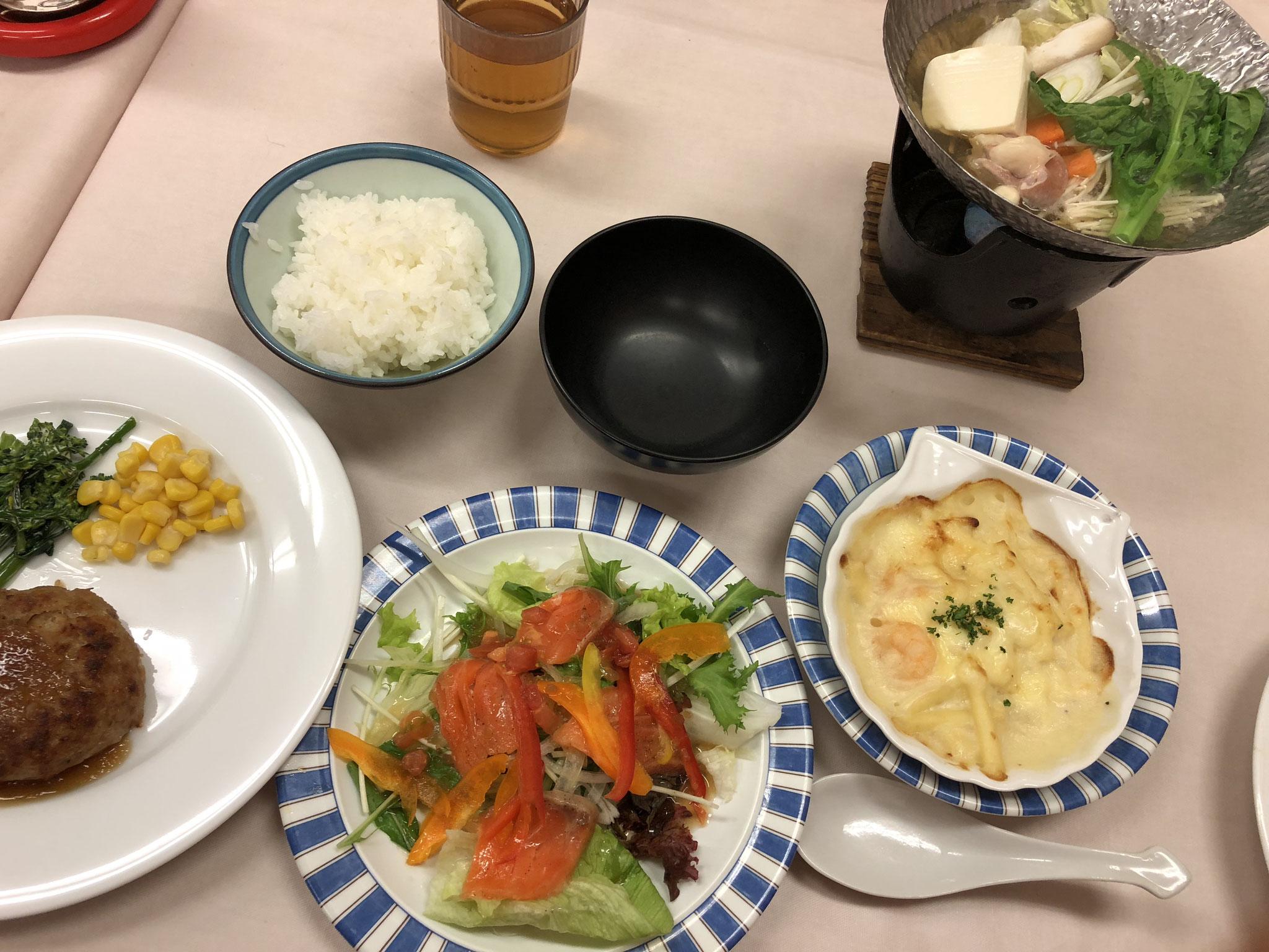秋合宿♪ 御飯がおいしい!