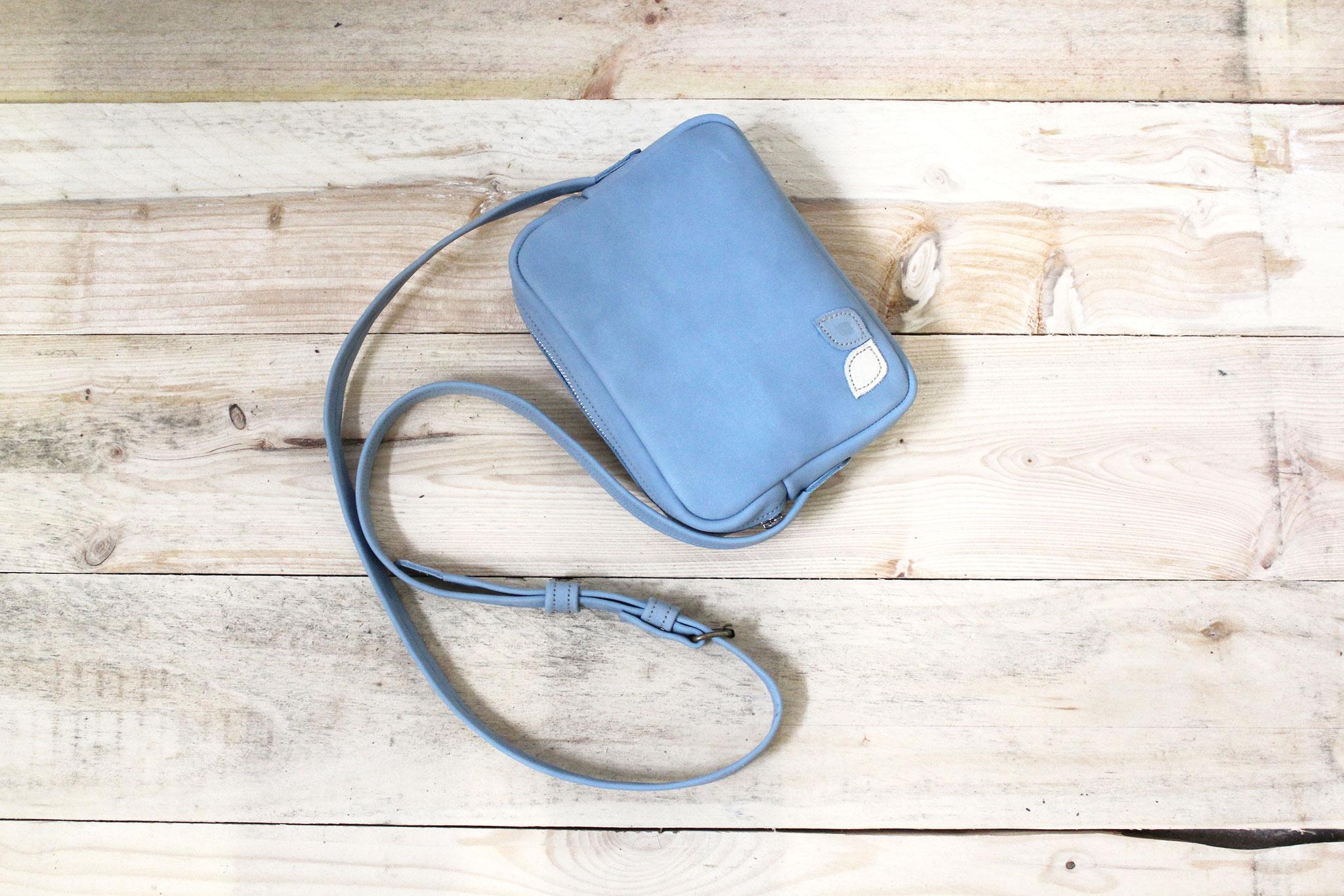 Sac vintage bleu used