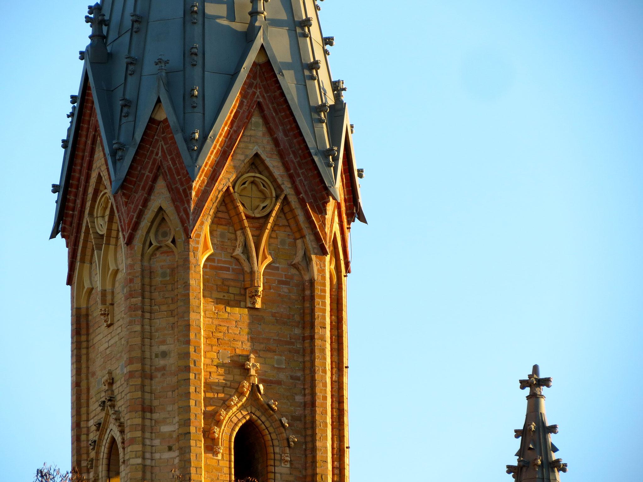 Teil der Schlosskirche Neustrelitz