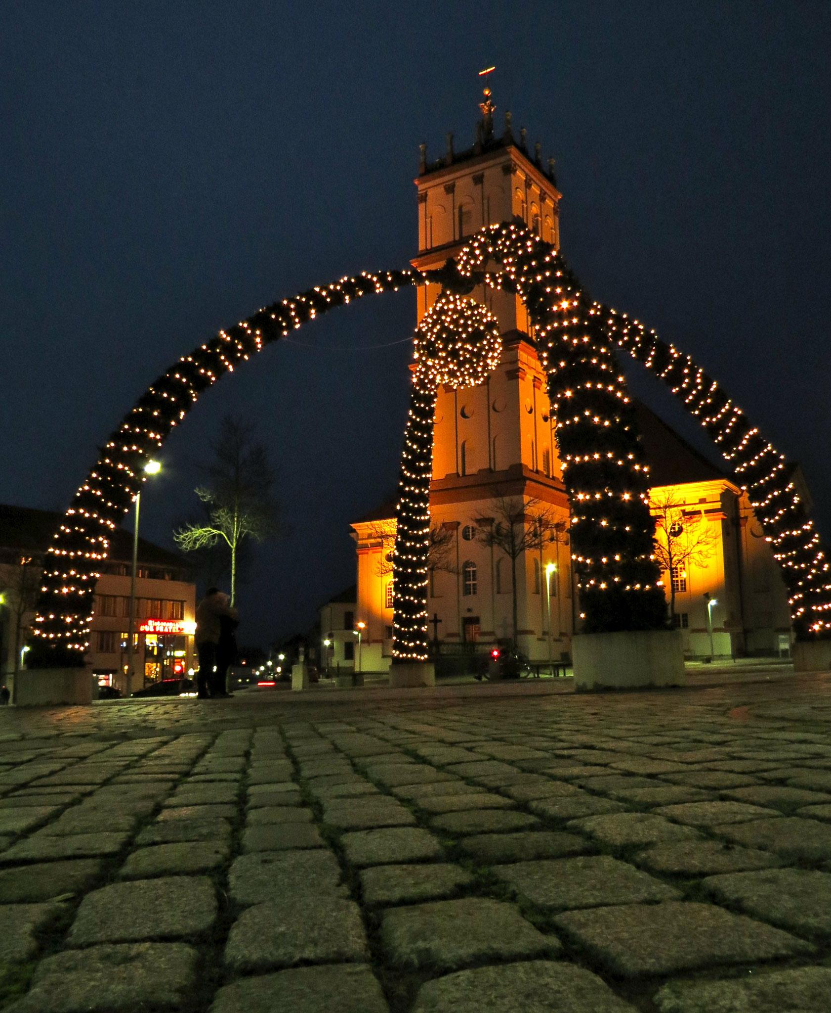 Weihnachten am Marktplatz Neustrelitz