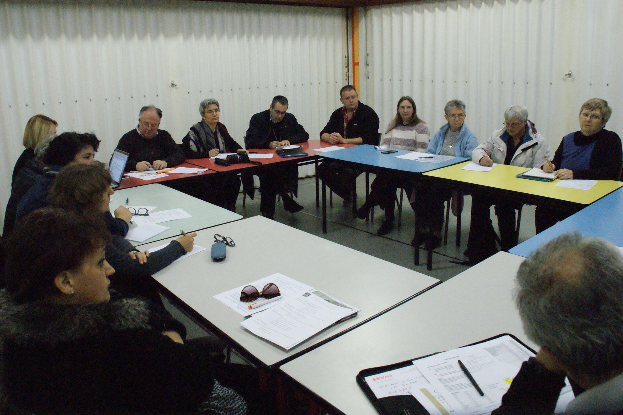 Temps d'échanges avec des acteurs engagés dans l'accompagnement de personnes en situation de fragilité, de précarité