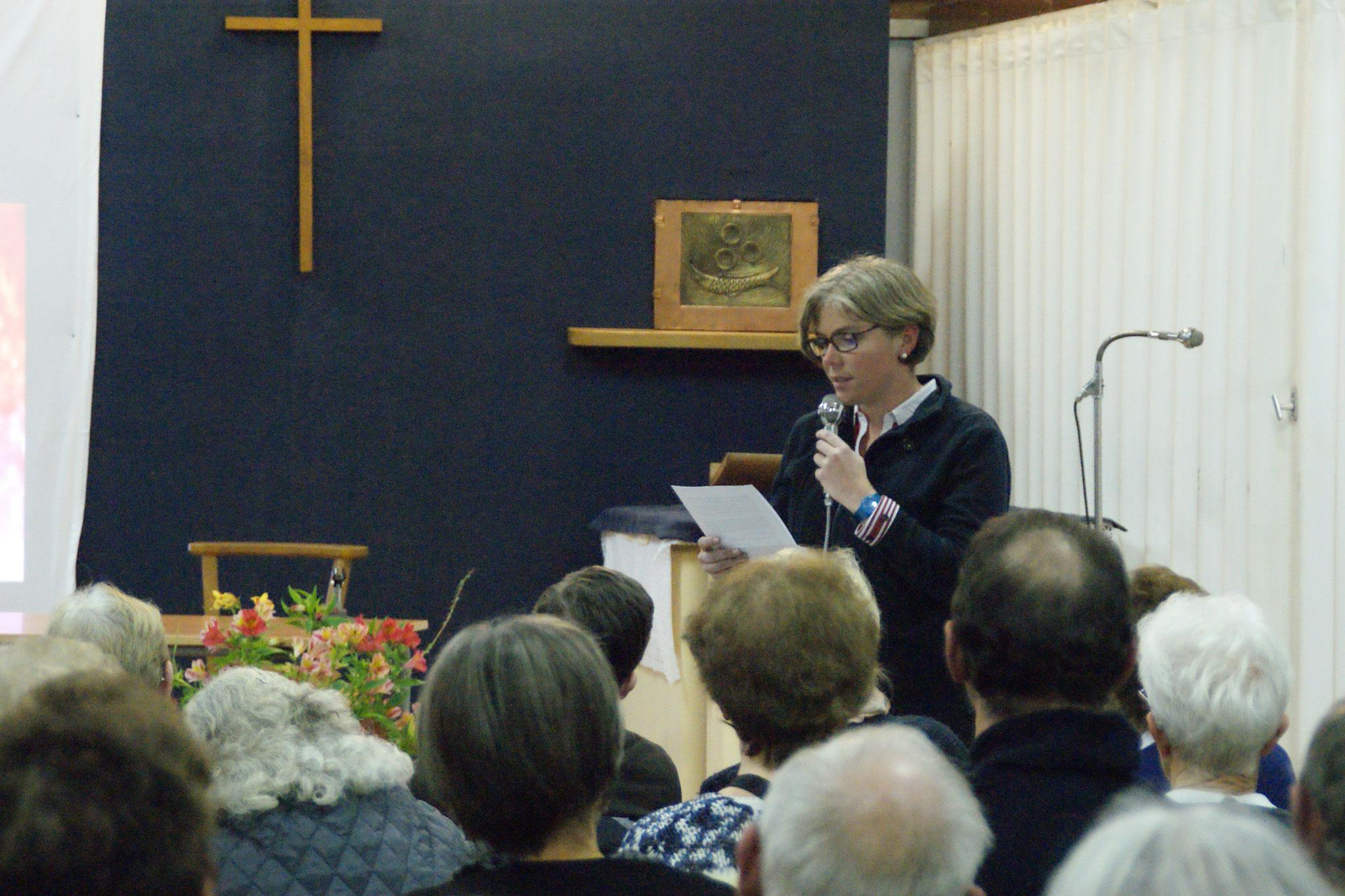 Aline LETERTRE, Directrice de l'école Notre-Dame - Saint Louis à Briouze