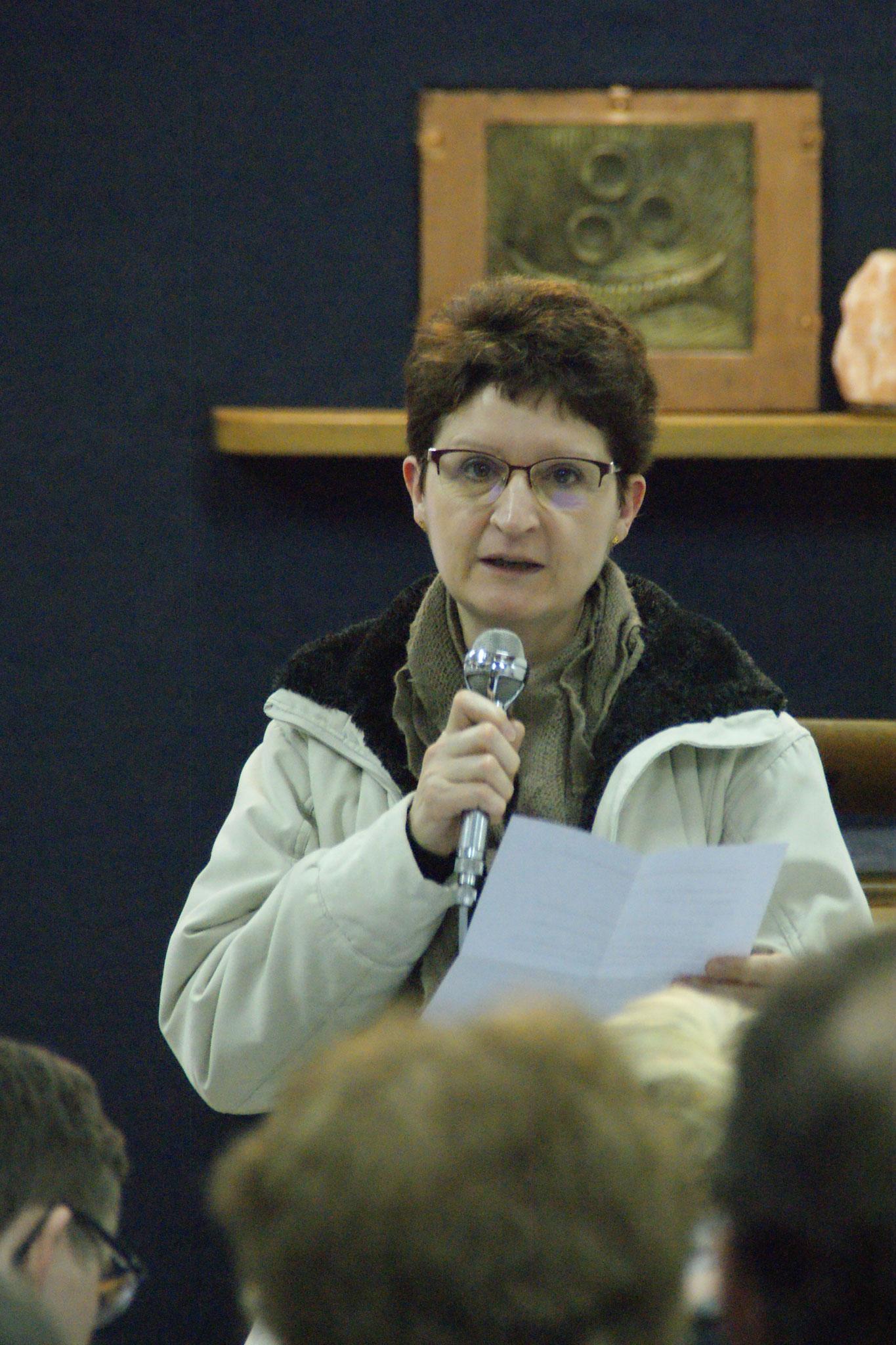 Patricia AUCHERIE du Secours Catholique