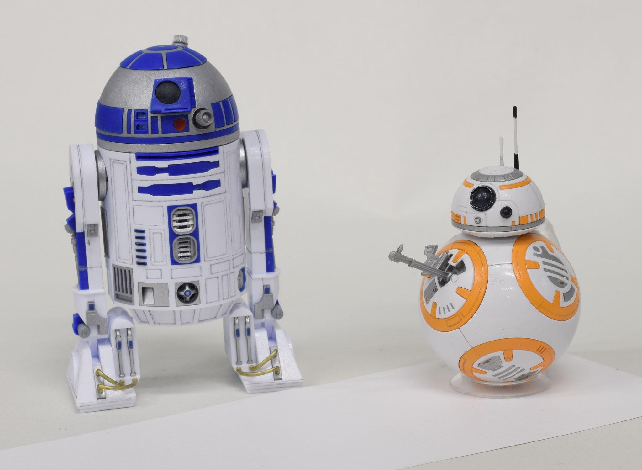 R2-D2 & BB-8