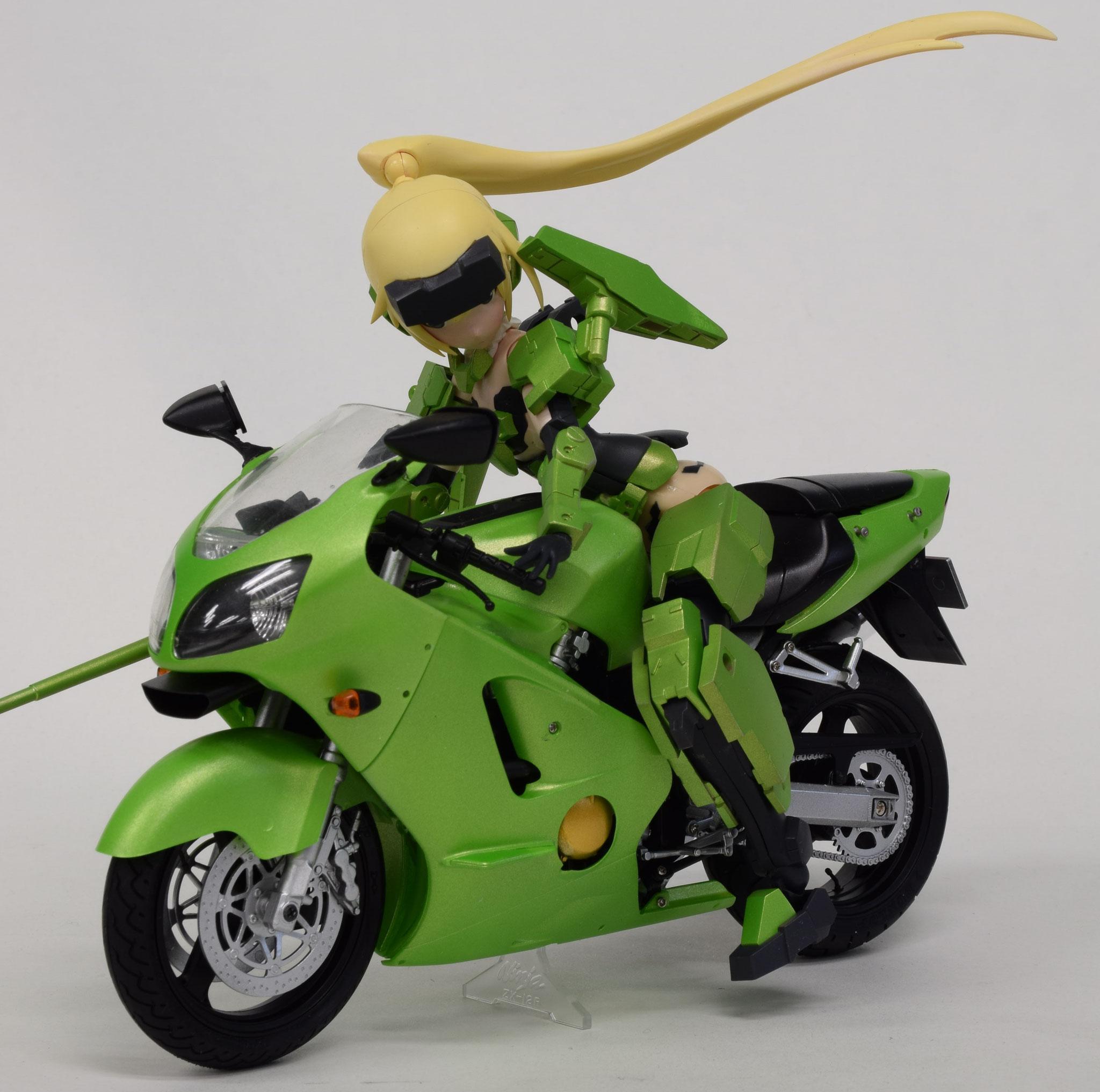 FA:G 迅雷 + カワサキ・ニンジャ 250R