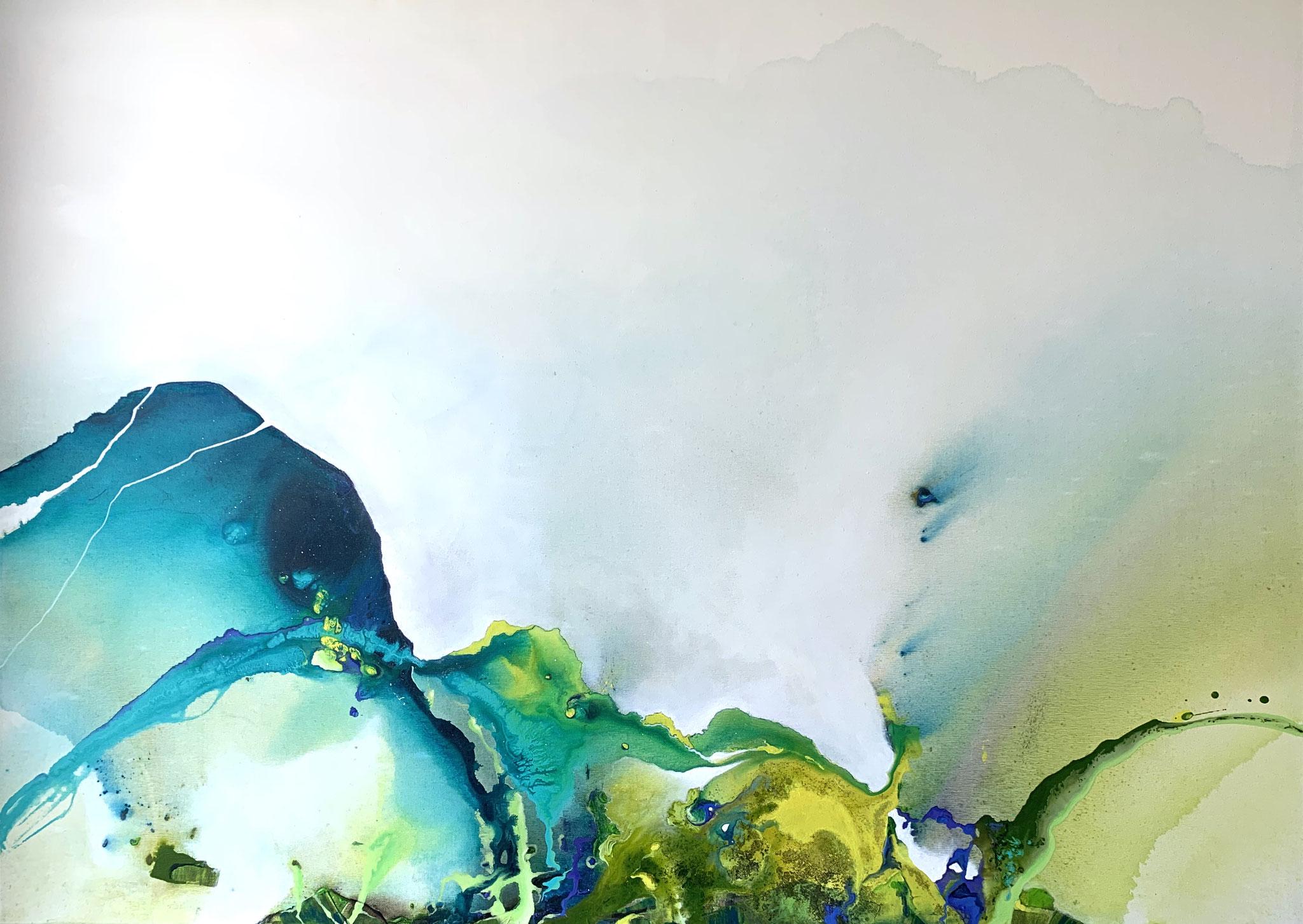 Ereignishorizont, Acryl auf Leinwand, 140 x 100 cm