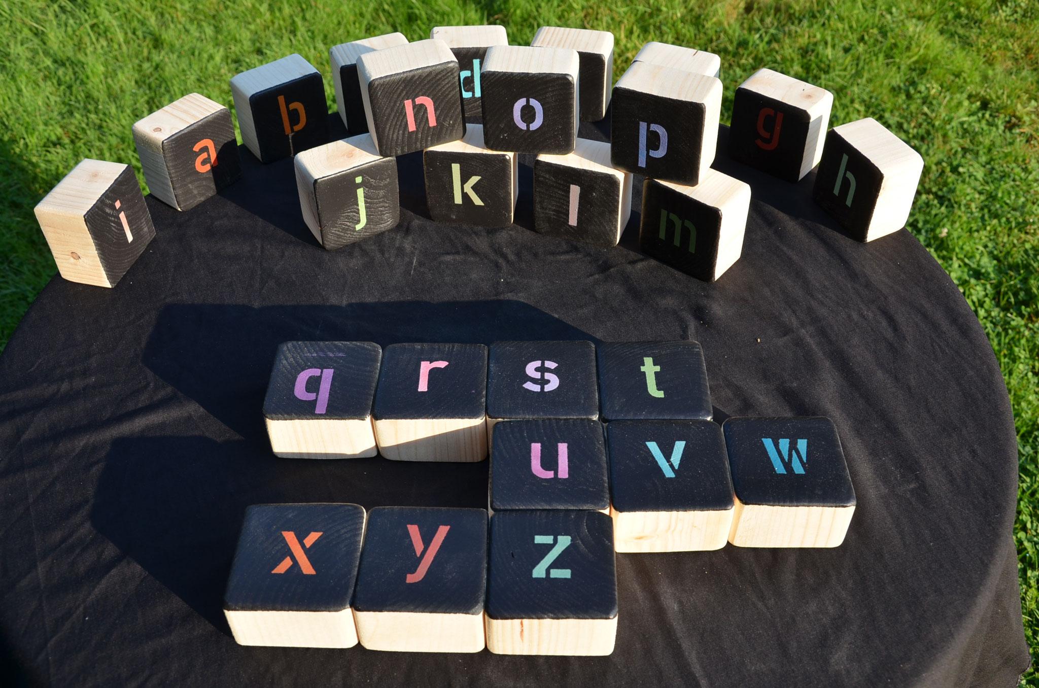 Meine Outdoorspiele: Mein ABC kleinbuchstaben
