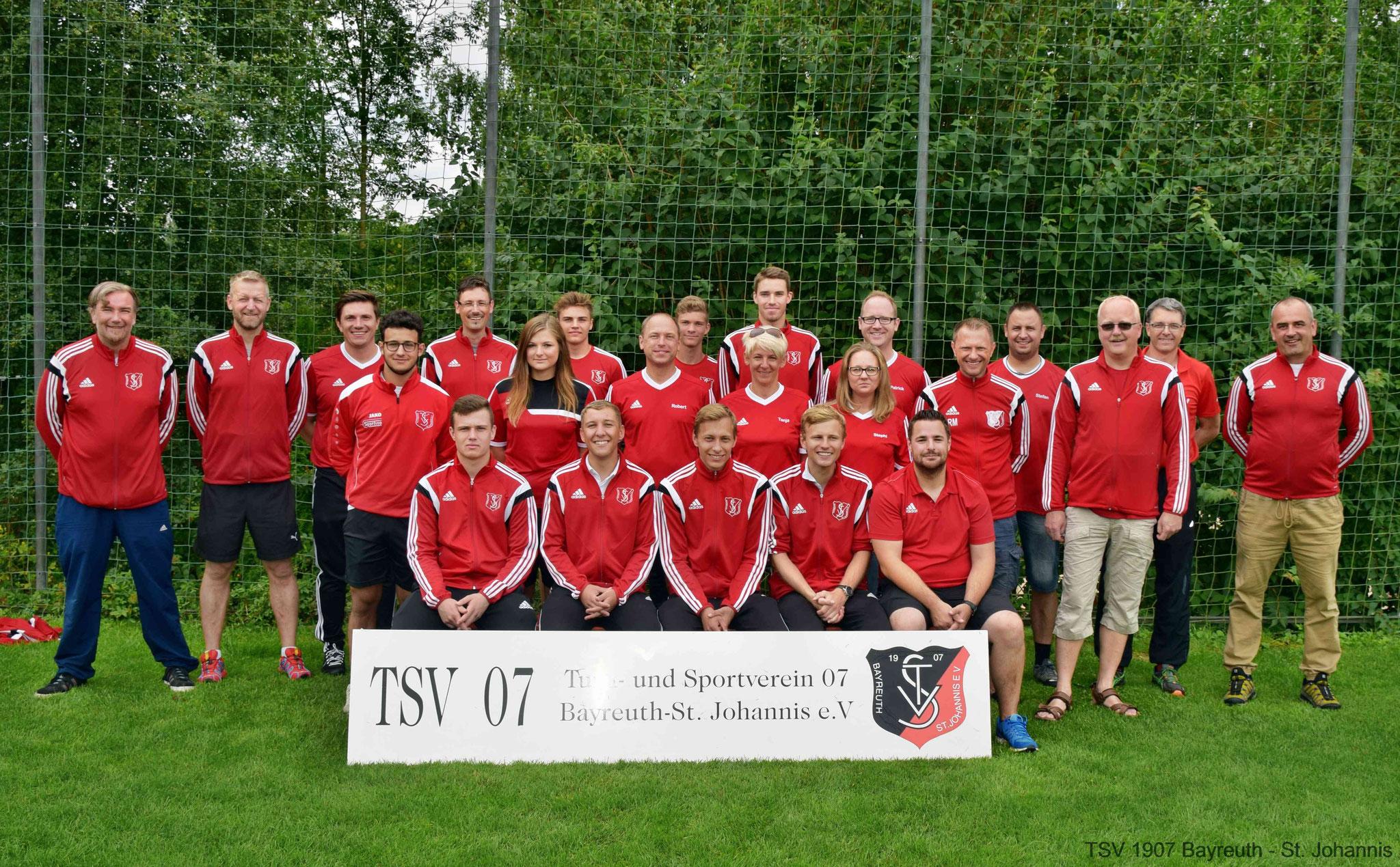 Trainer des TSV 07 Bayreuth-St.Johannis