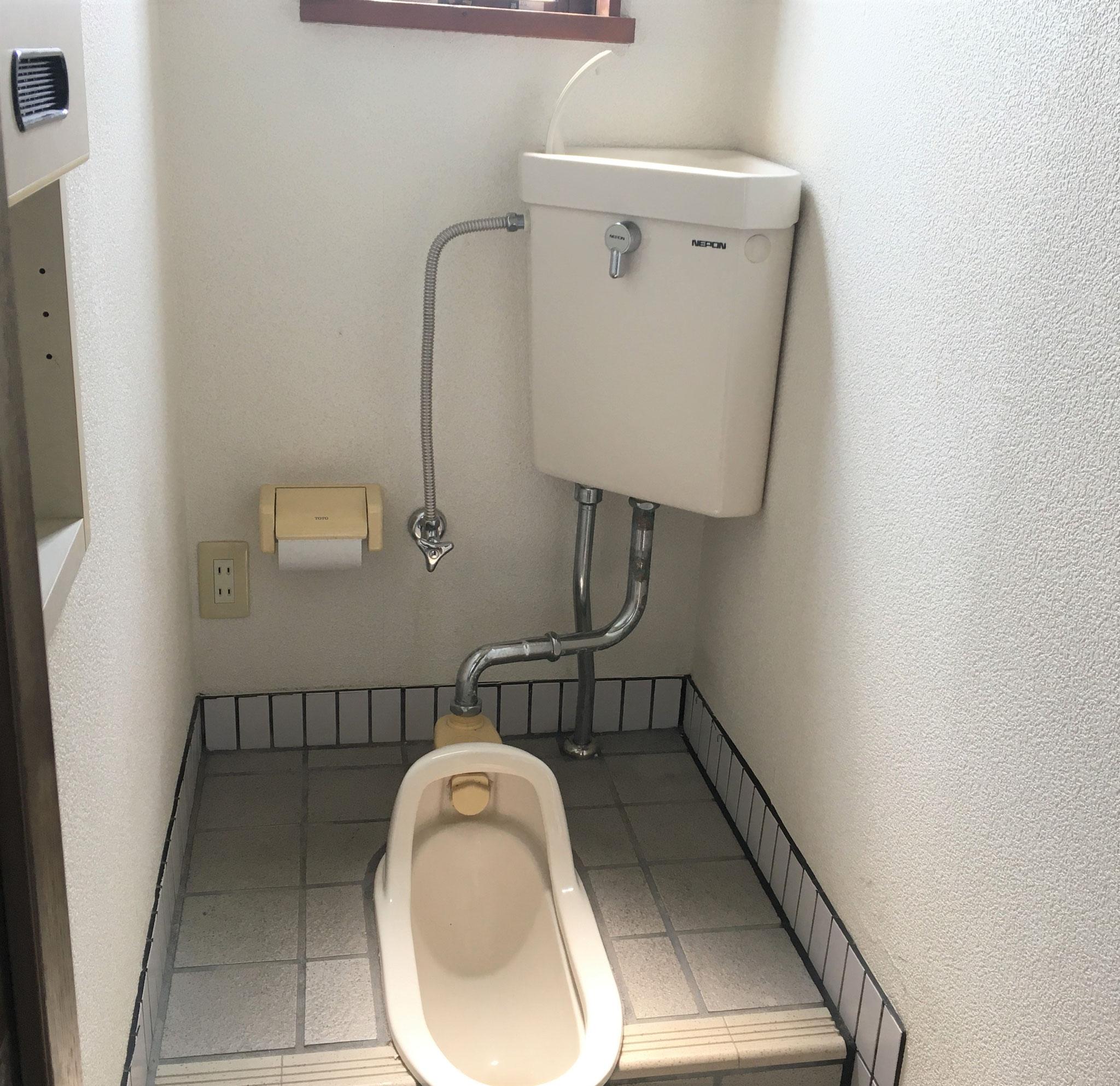 水洗汲み取りです