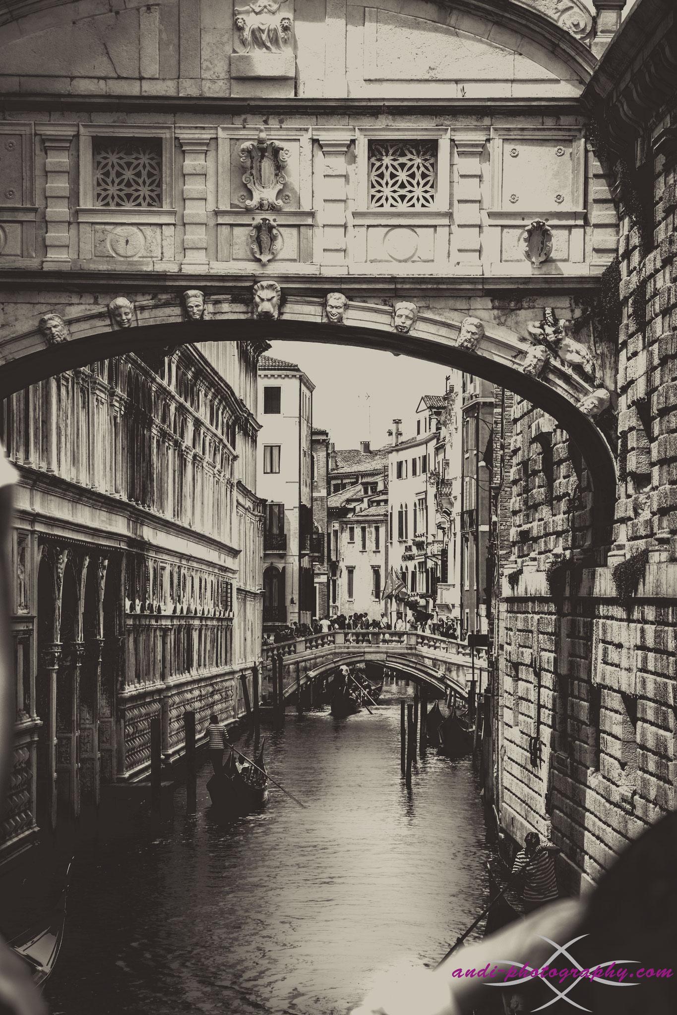 Wasserstrasse in Venedig2016