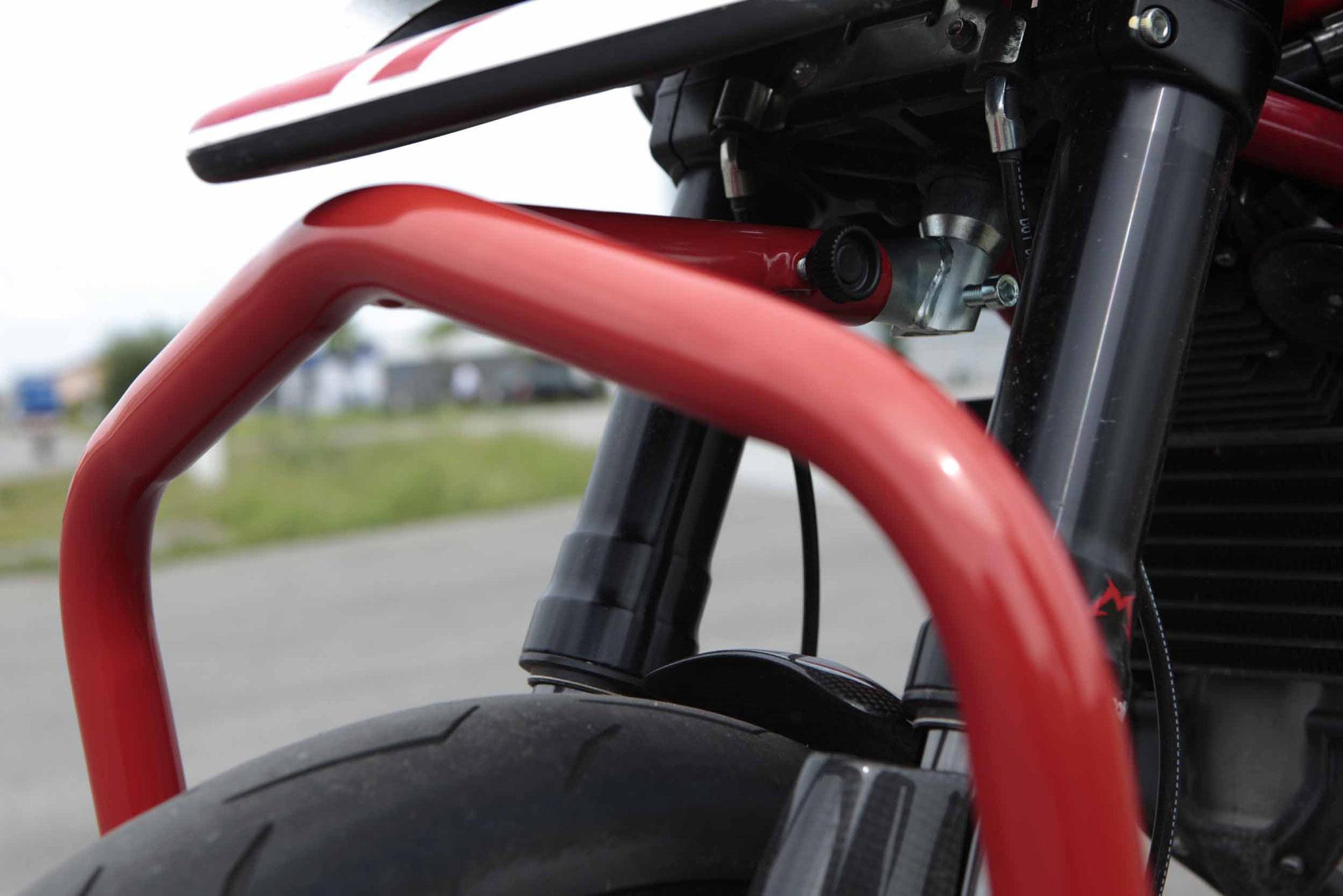 Detail Frontständer V10