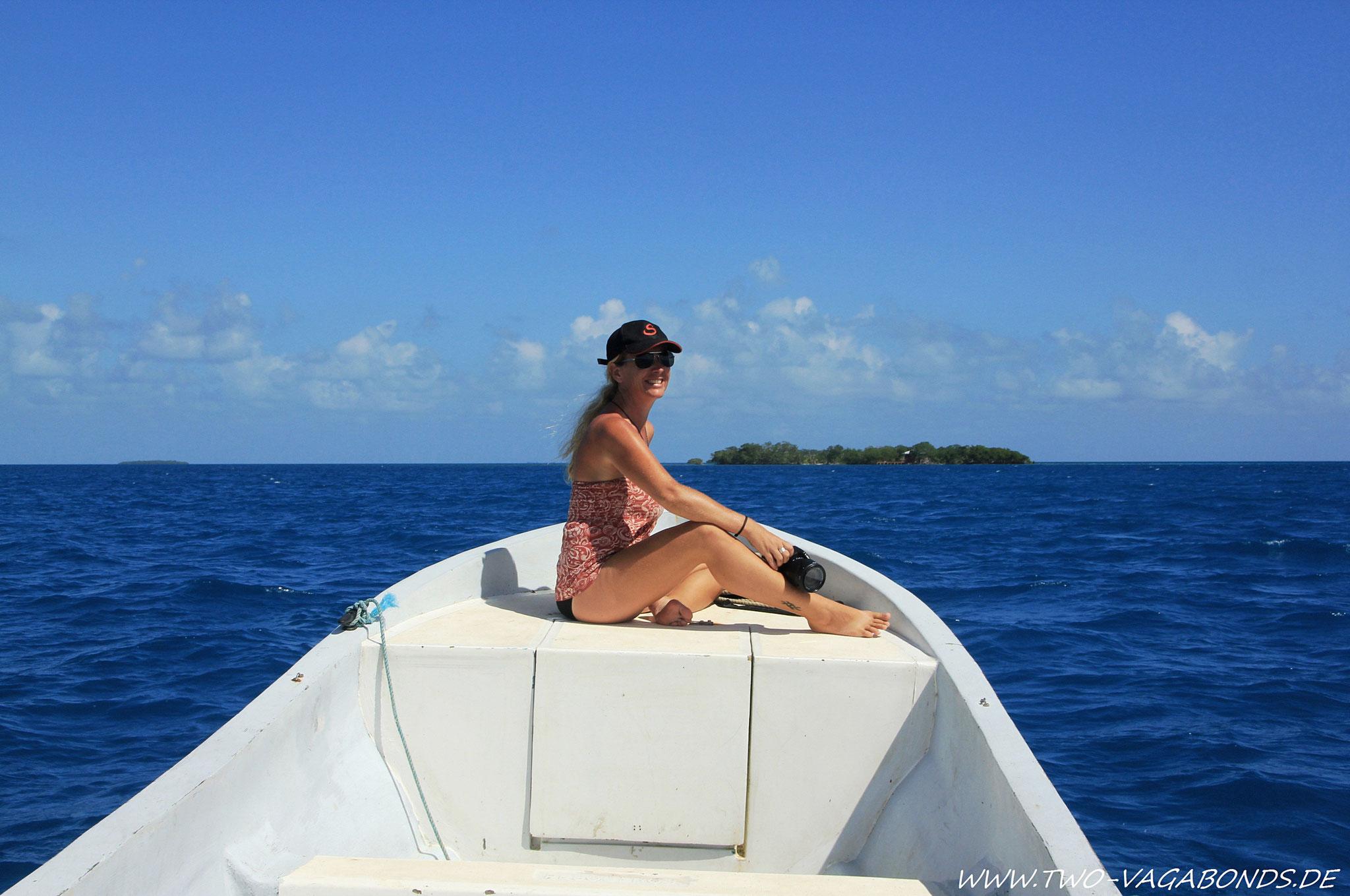 BELIZE 2013 - KARIBIK - LITTLE PETER ISLAND