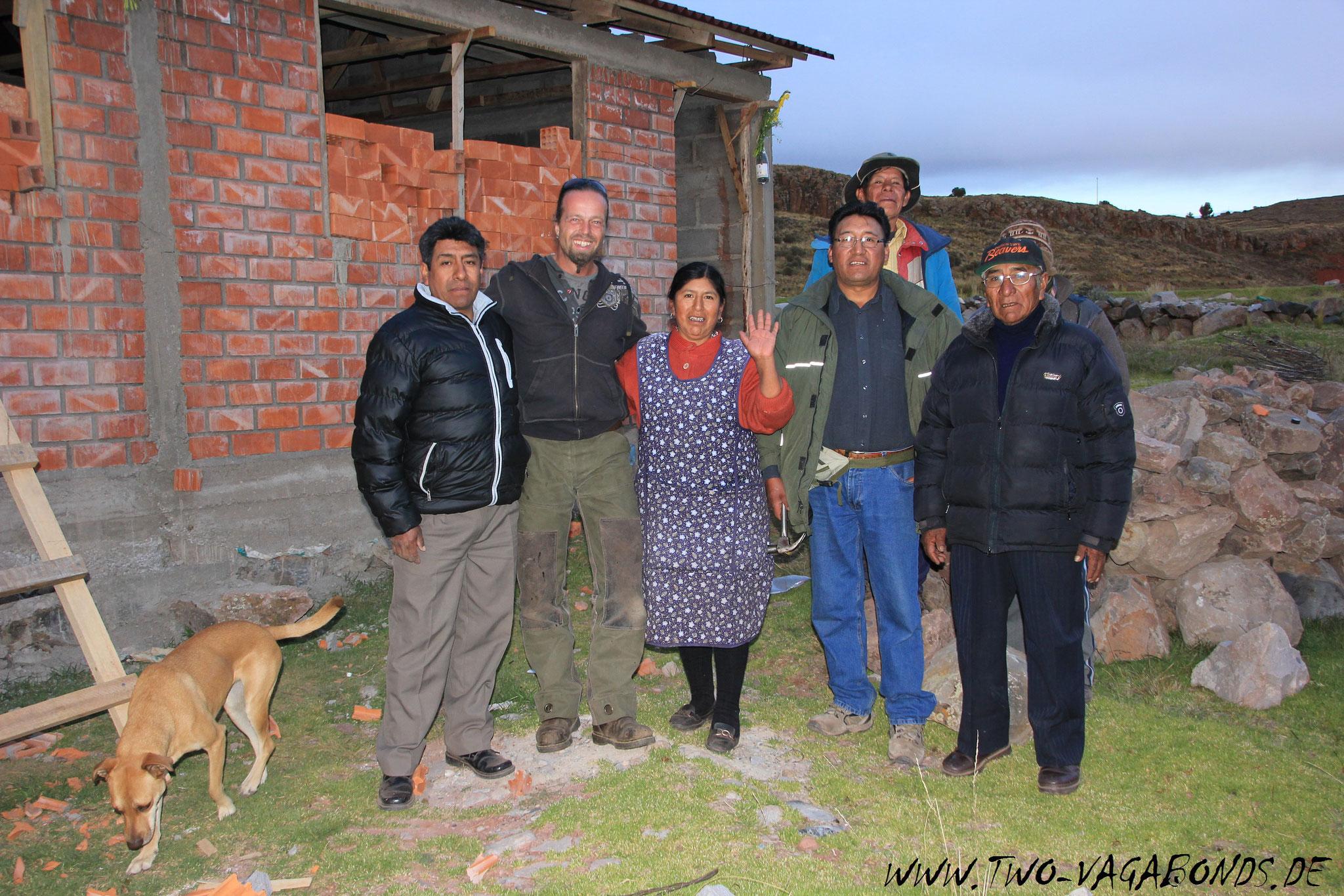 BOLIVIEN 2015 - ZU GAST BEI EINER HAUSEINWEIHUNG