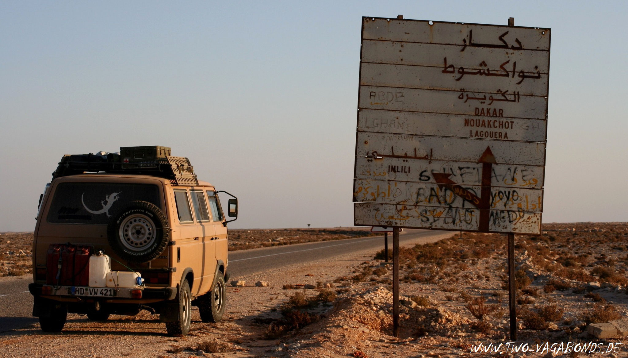 WEST SAHARA 2006 - AUF DEM WEG NACH MAURETANIEN