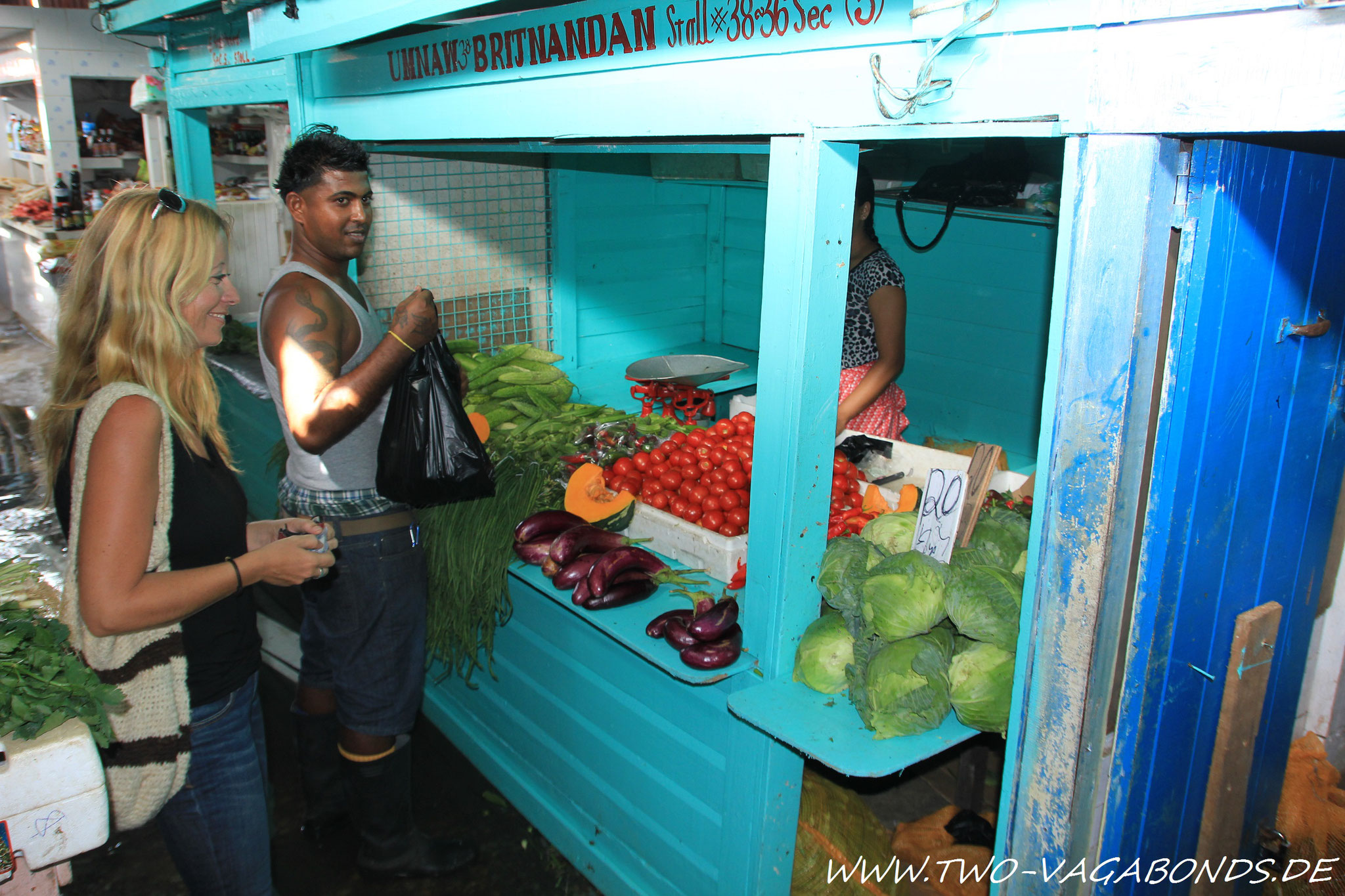 GUYANA 2014 - STABROEK MARKET IN GEORGETOWN
