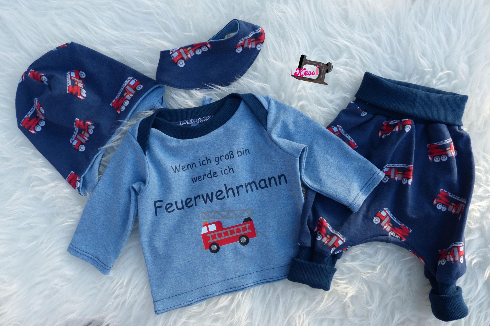 Babyset Feuerwehr