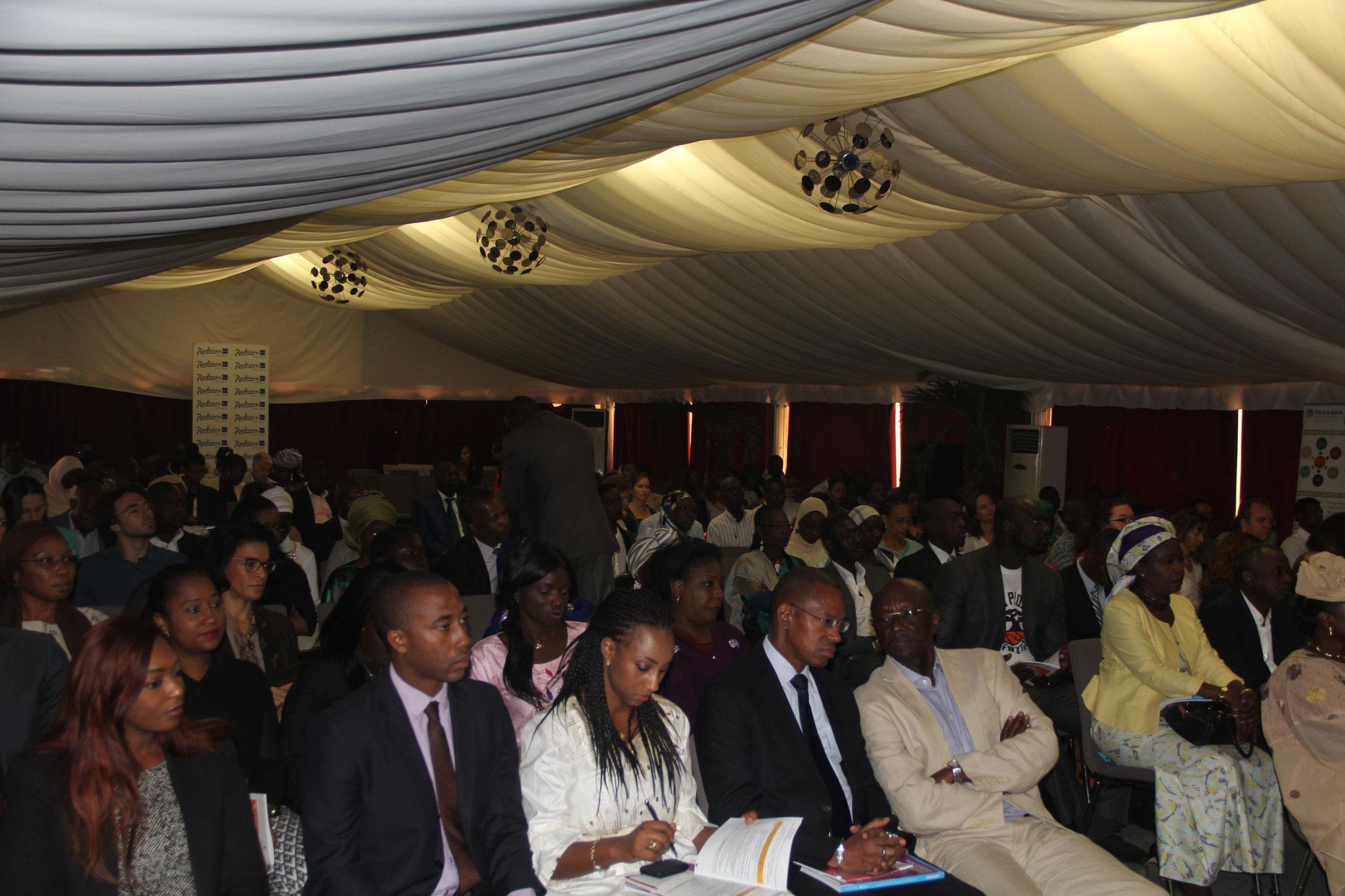 Forum RSE Senegal 2015 : Vue de la Salle