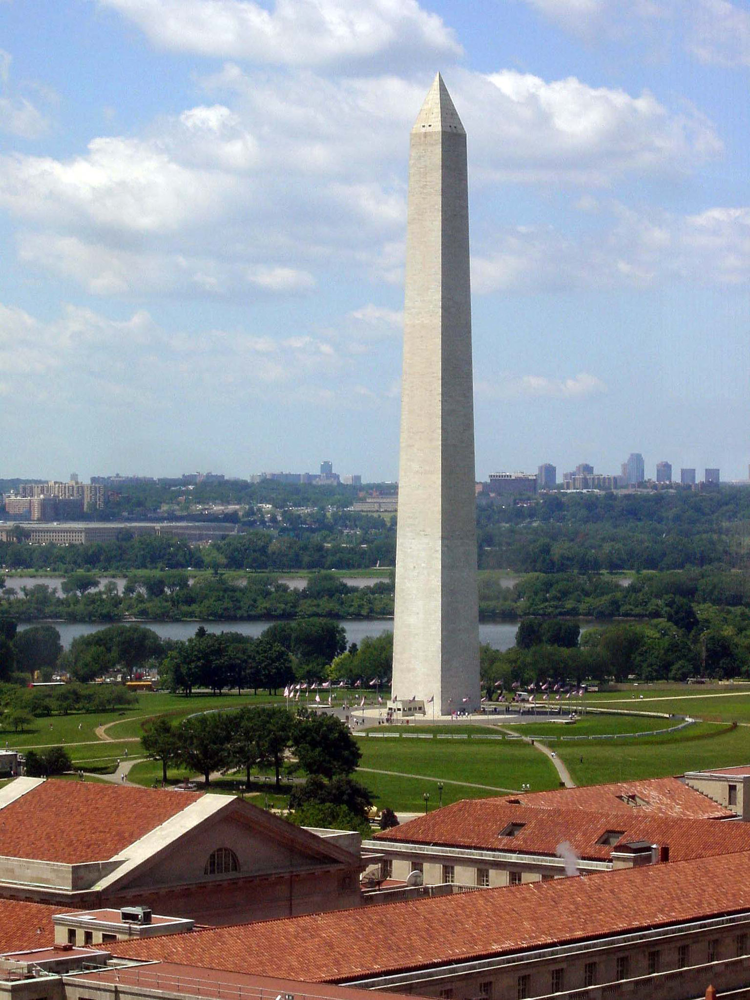 Blick Washington Monument