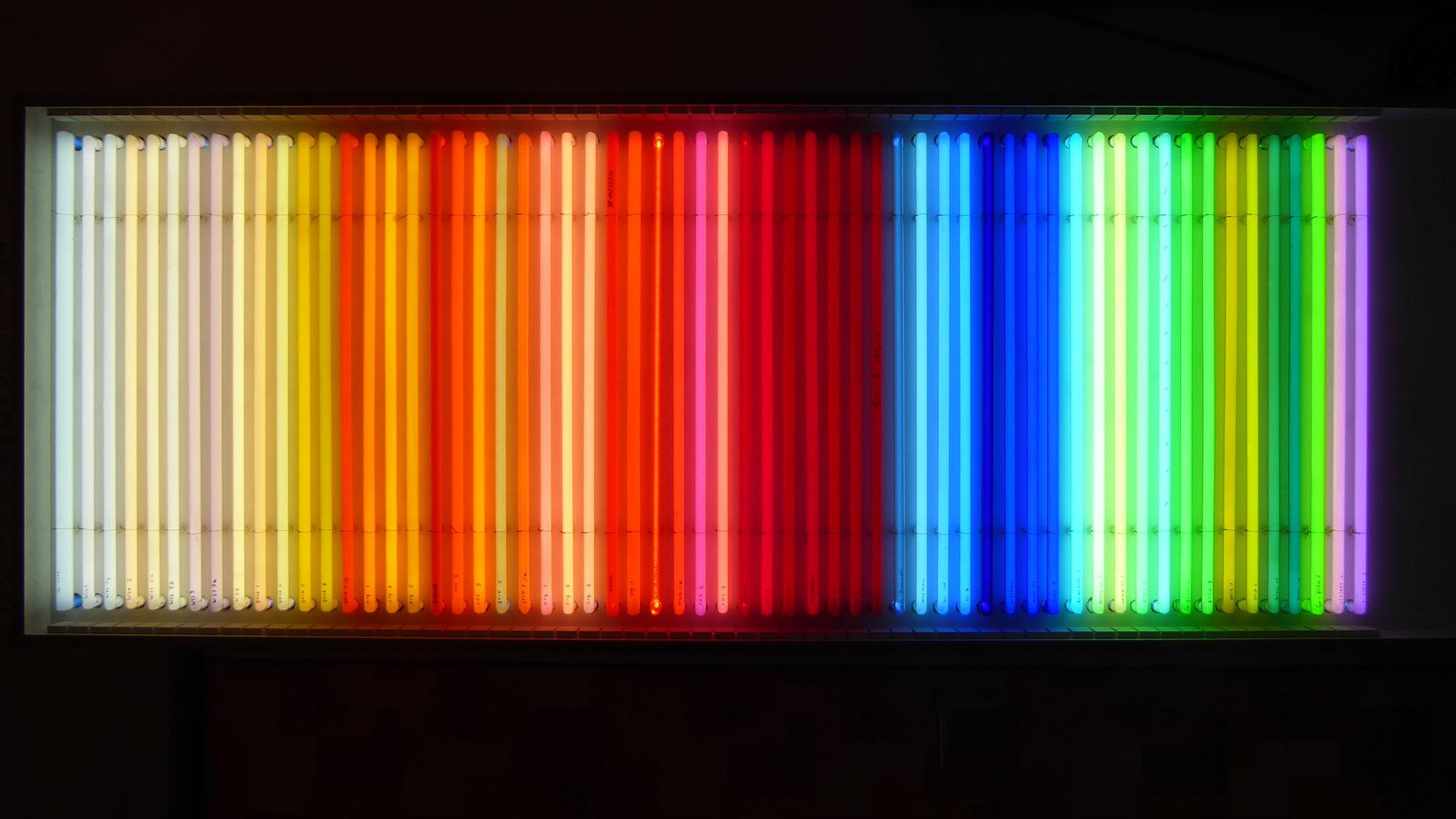 Neon Licht Farben // Neonjoecks Musterwand
