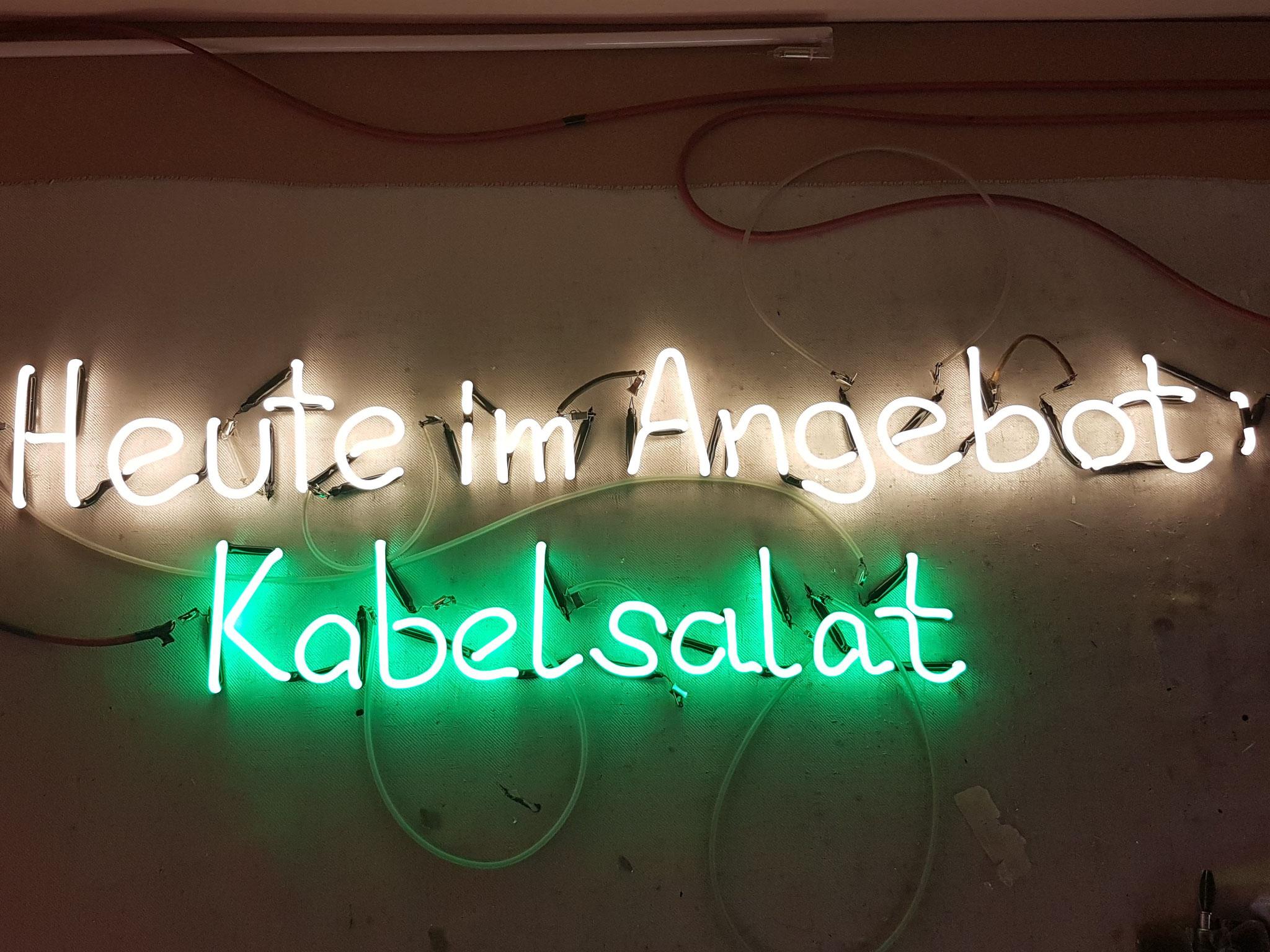 Neonschrift Hersteller//Berlin