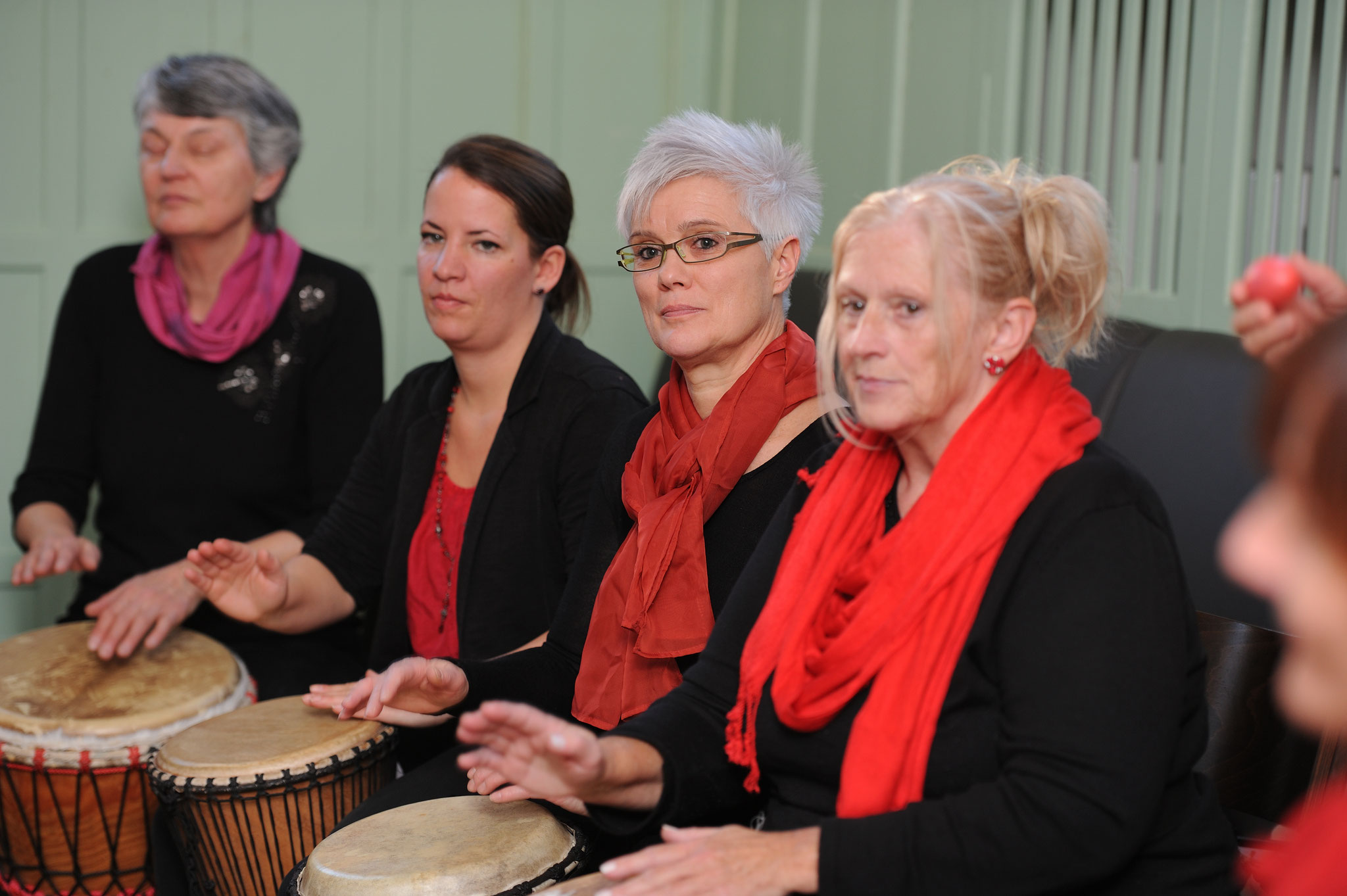 Auftritt Gruppe Percussion