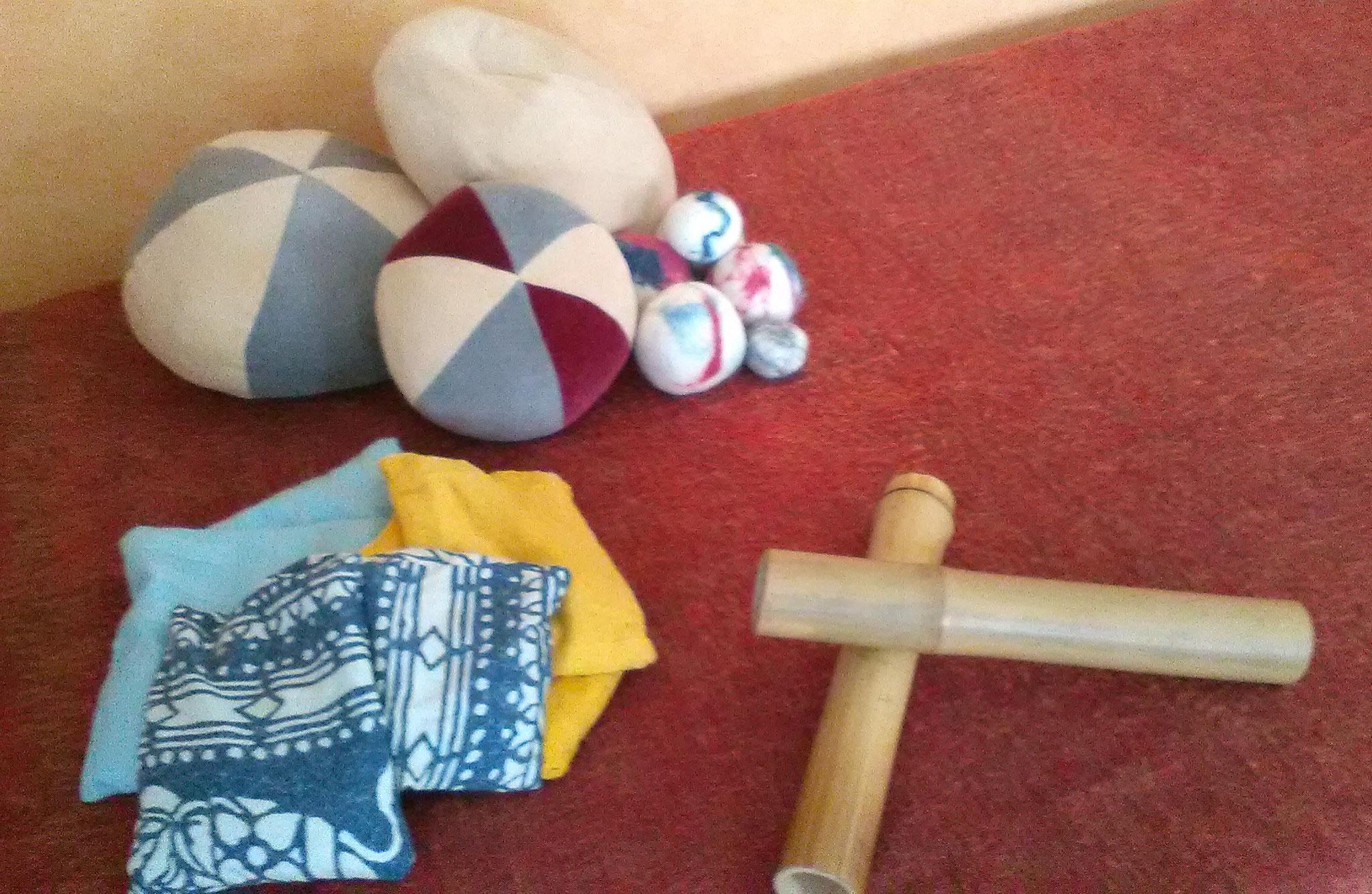 warme Kirschkernsäckchen, Nicki-Bälle, Bambus-Material