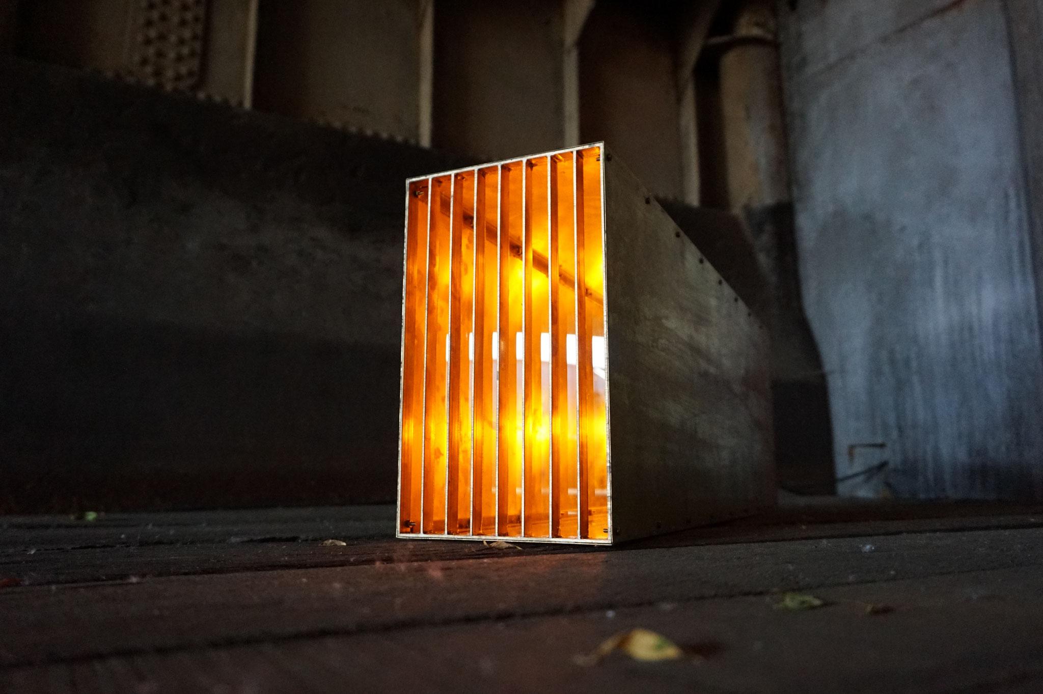 O.No.3 | 80 x 27 x 18 cm | brass, acrylic glass
