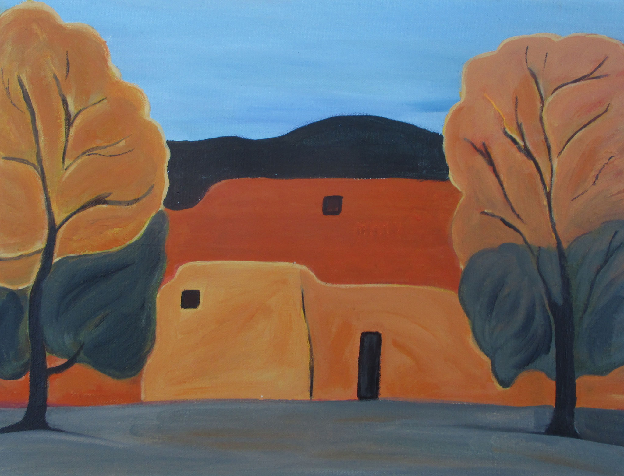 Autumn Colors, acrylic on canvas, 18 x 14 SOLD