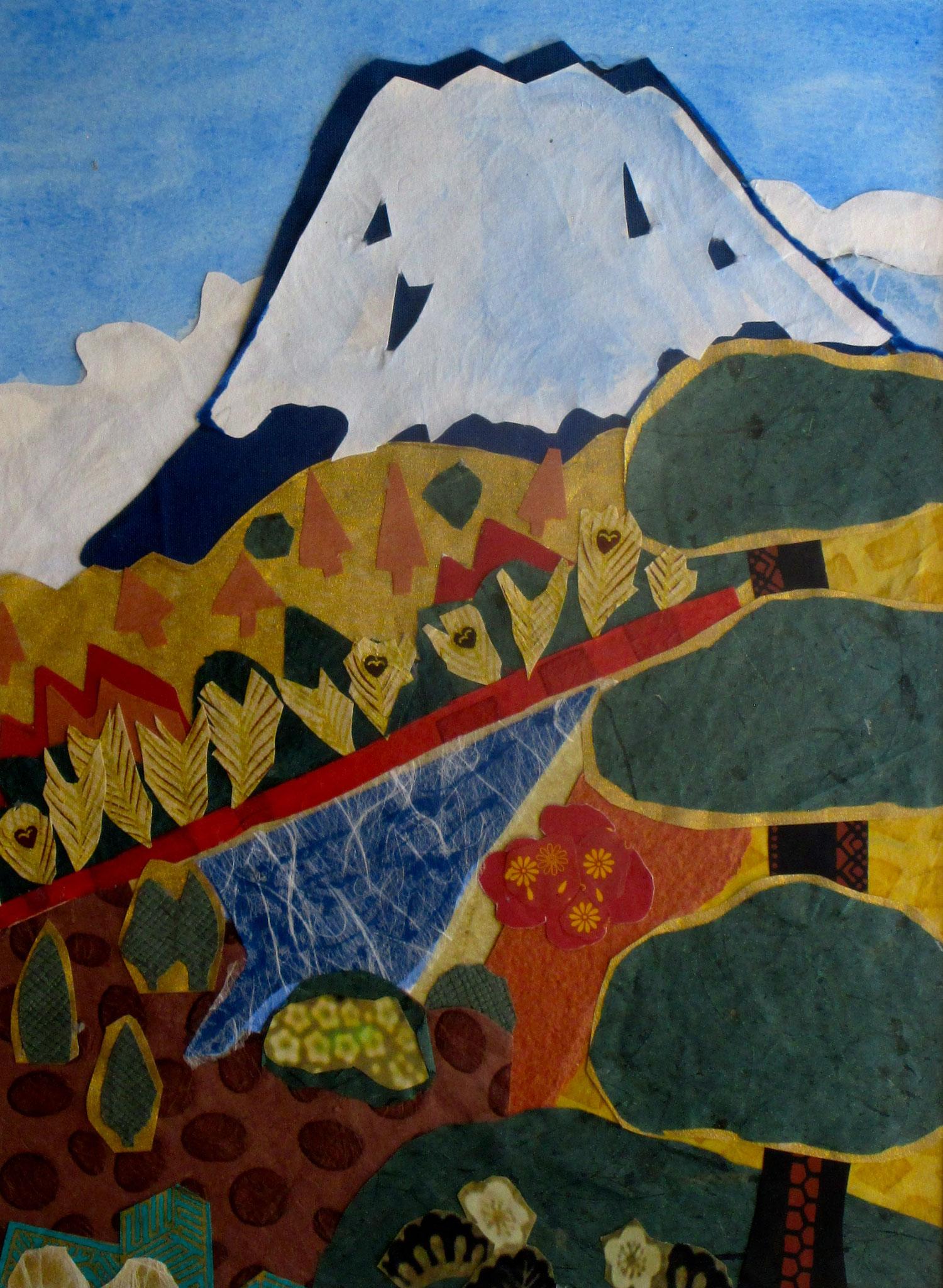 Fuji-San II, 16 x 20, matted