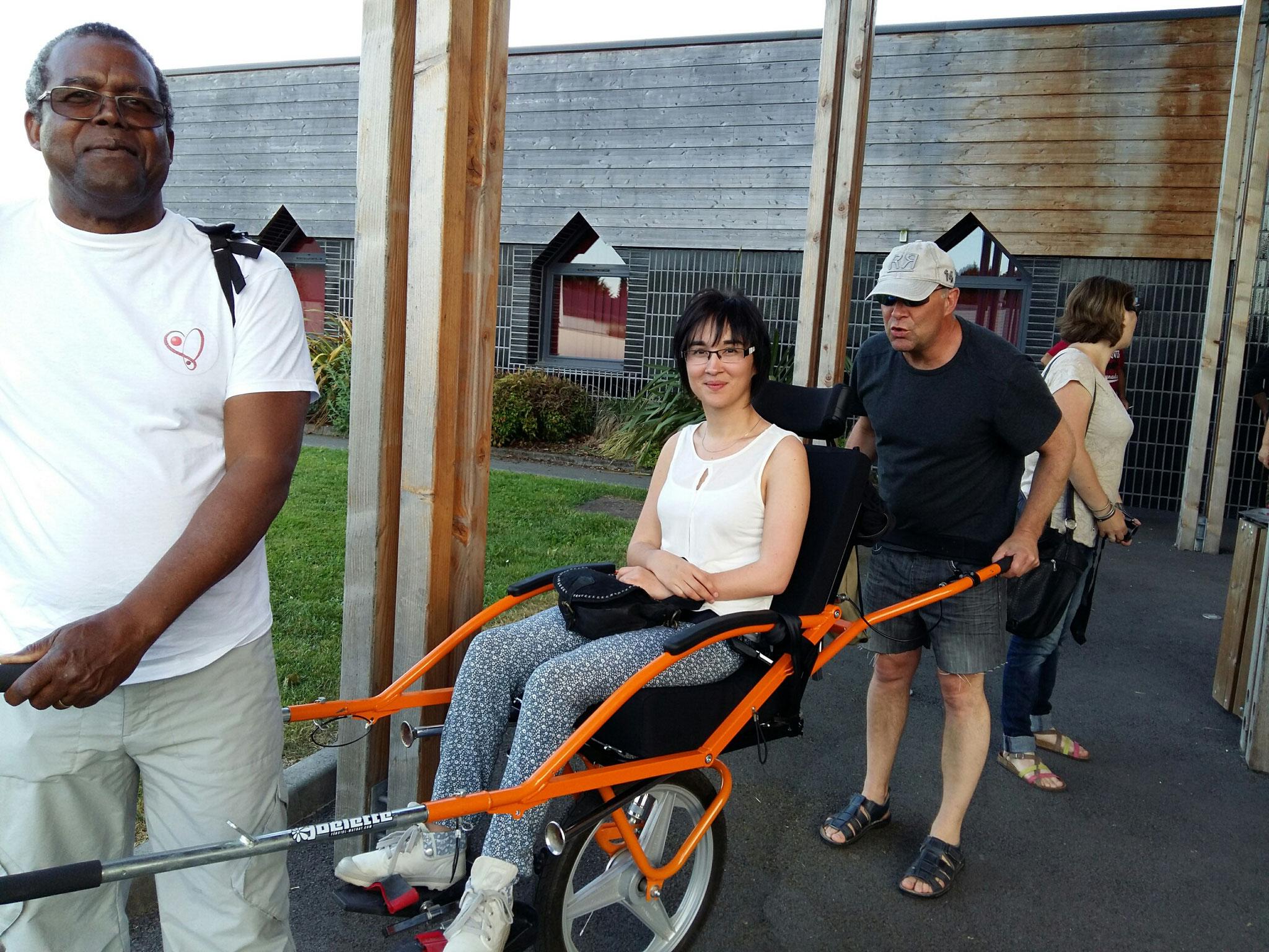 René, Anna et son Papa Yannick
