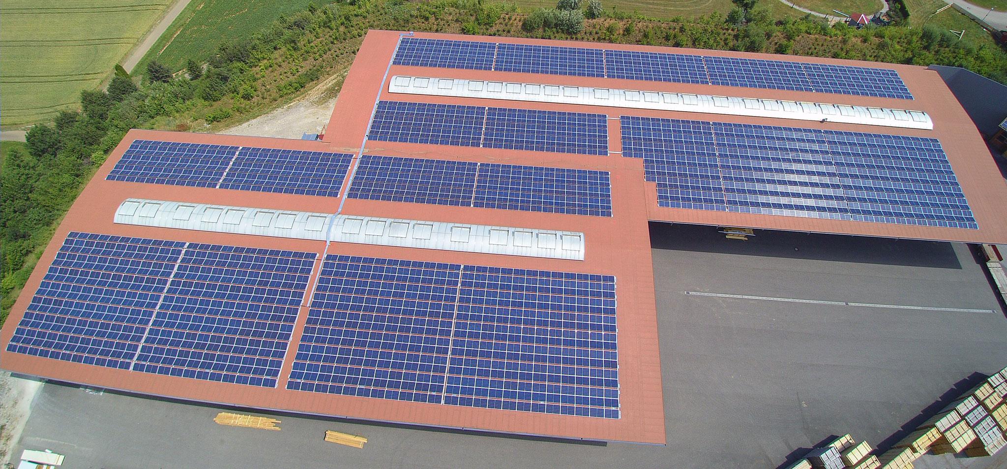 620 kWp Axitec, Pfahlheim