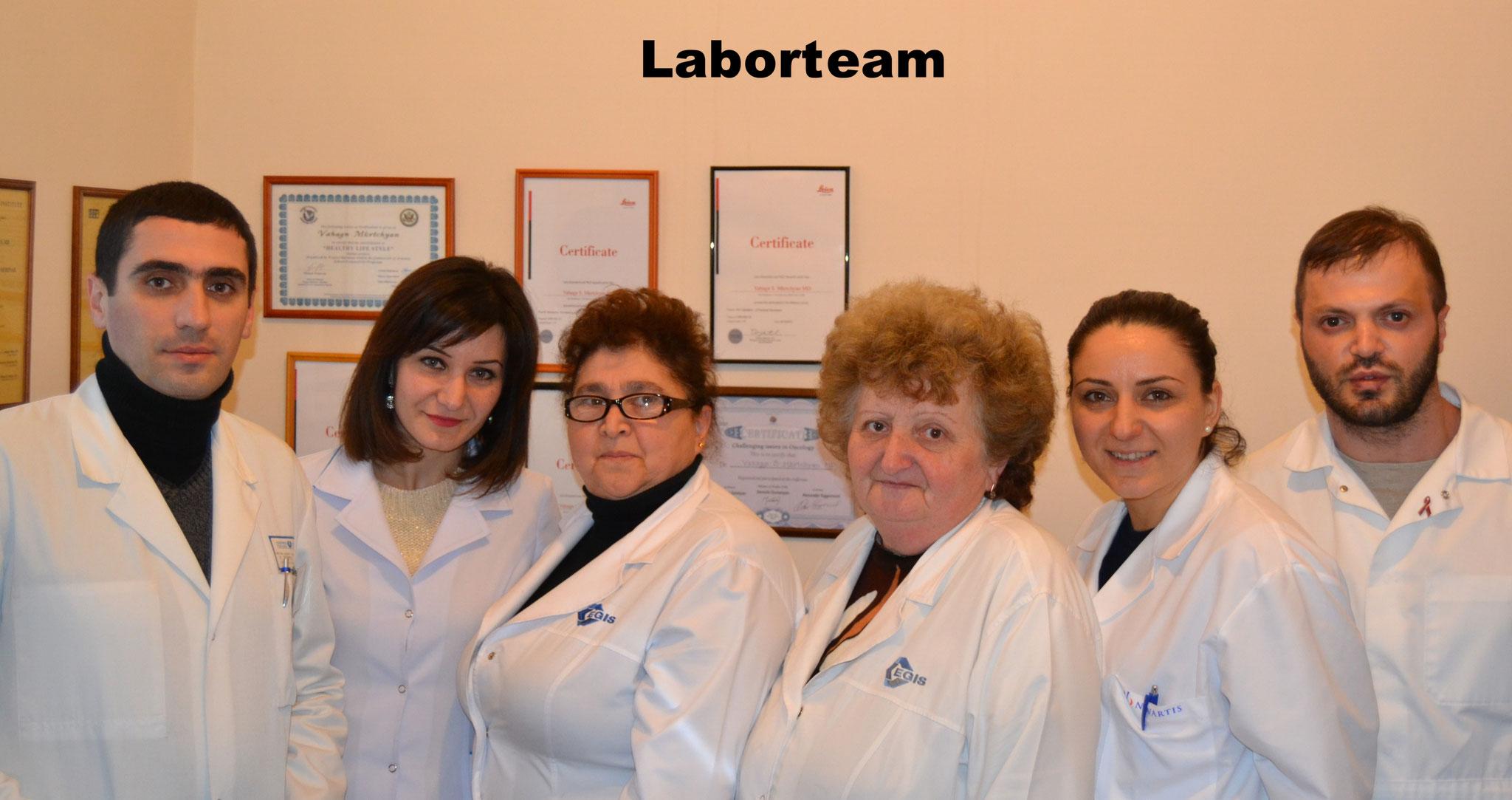 Das Laborteam